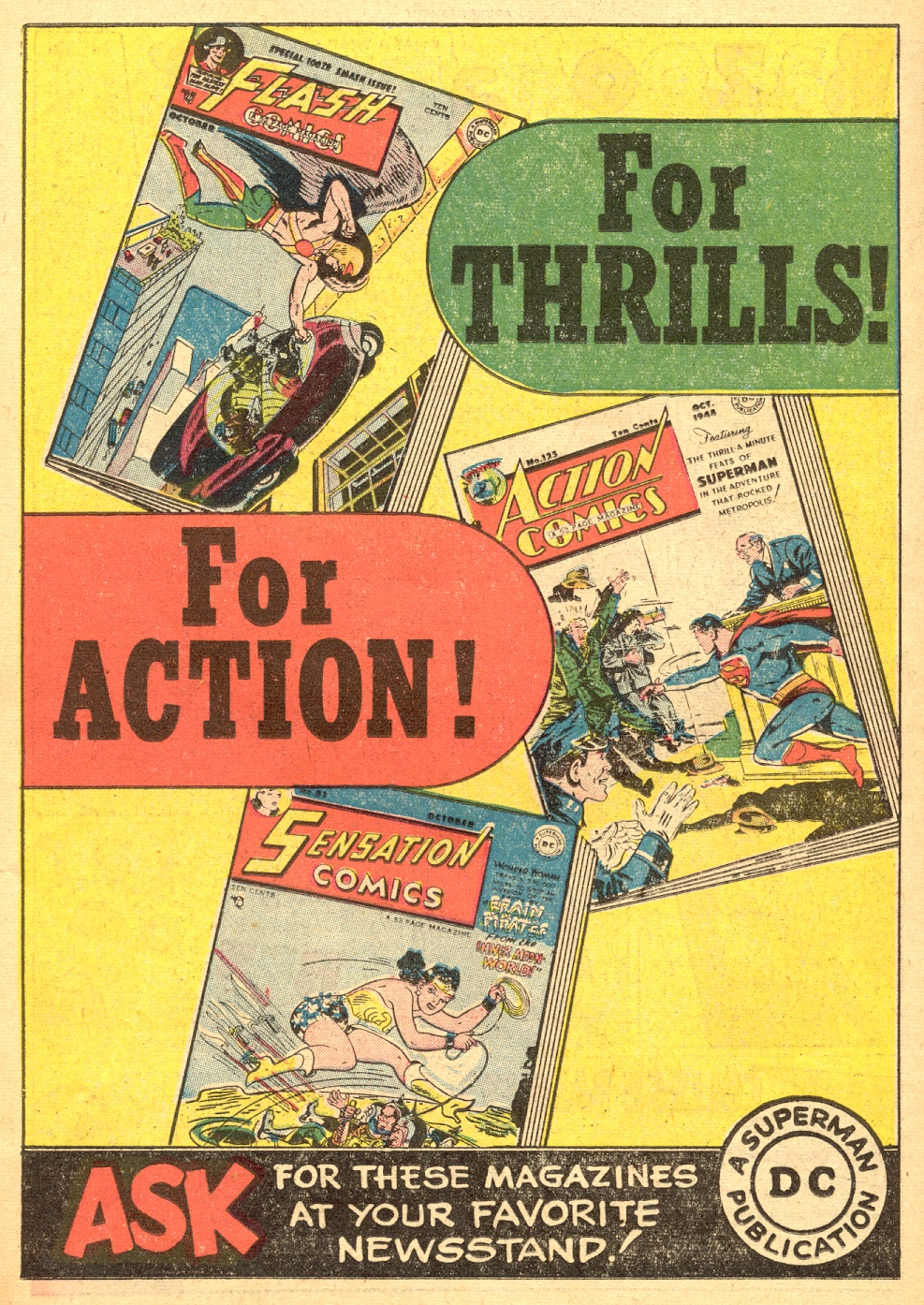 Read online Adventure Comics (1938) comic -  Issue #133 - 36
