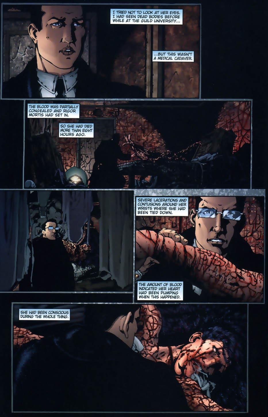 Read online Rex Mundi comic -  Issue #1 - 4