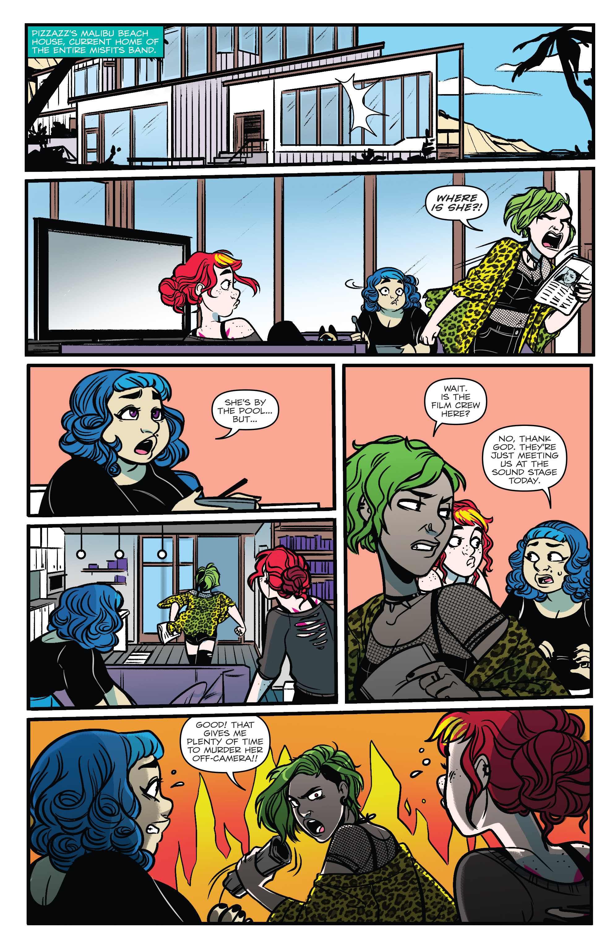 Read online Jem: The Misfits comic -  Issue #5 - 8
