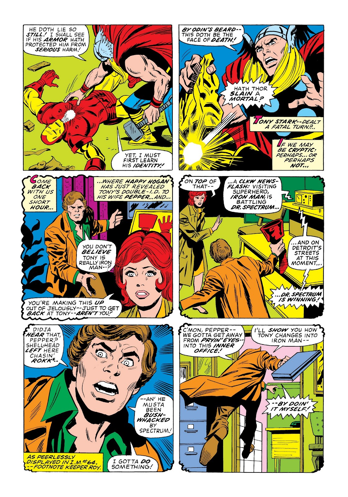 Read online Marvel Masterworks: The Invincible Iron Man comic -  Issue # TPB 9 (Part 3) - 59