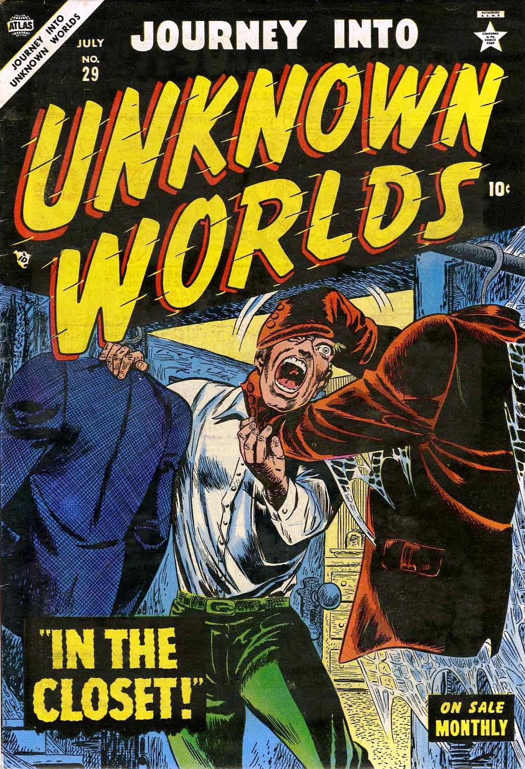 Journey Into Unknown Worlds (1950) issue 29 - Page 1