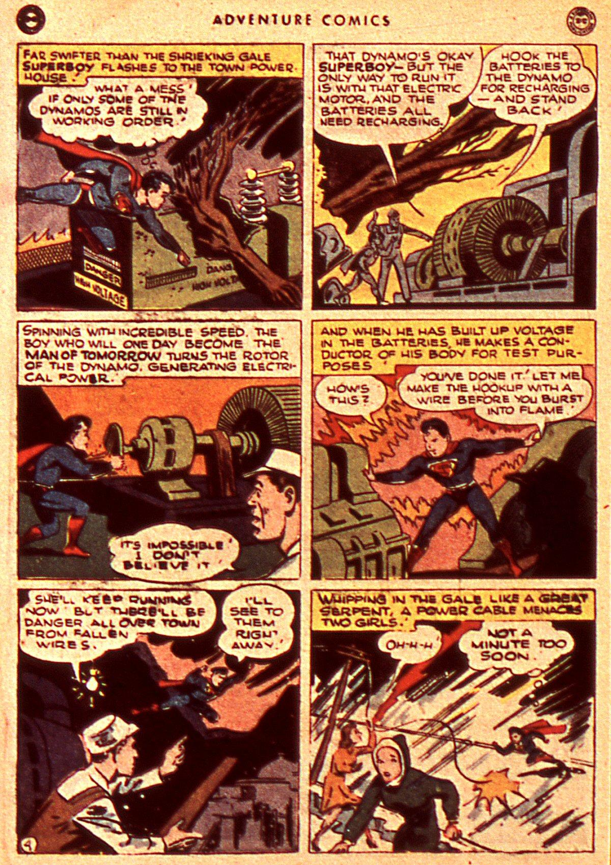 Read online Adventure Comics (1938) comic -  Issue #106 - 6