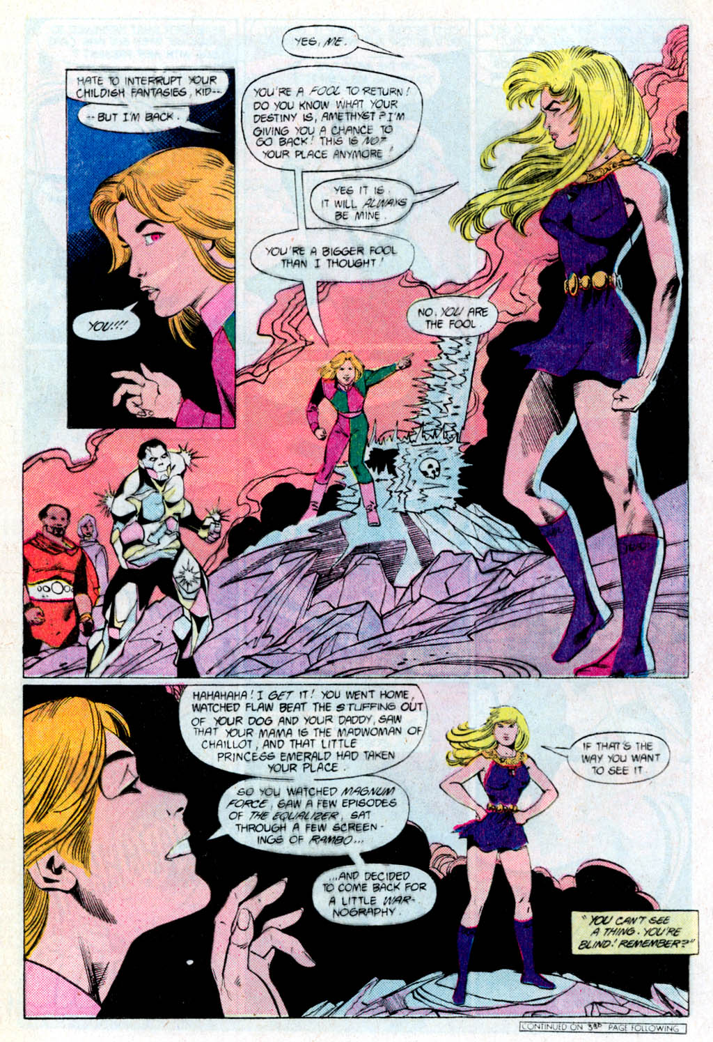 Read online Amethyst (1985) comic -  Issue # _Special 1 - 8