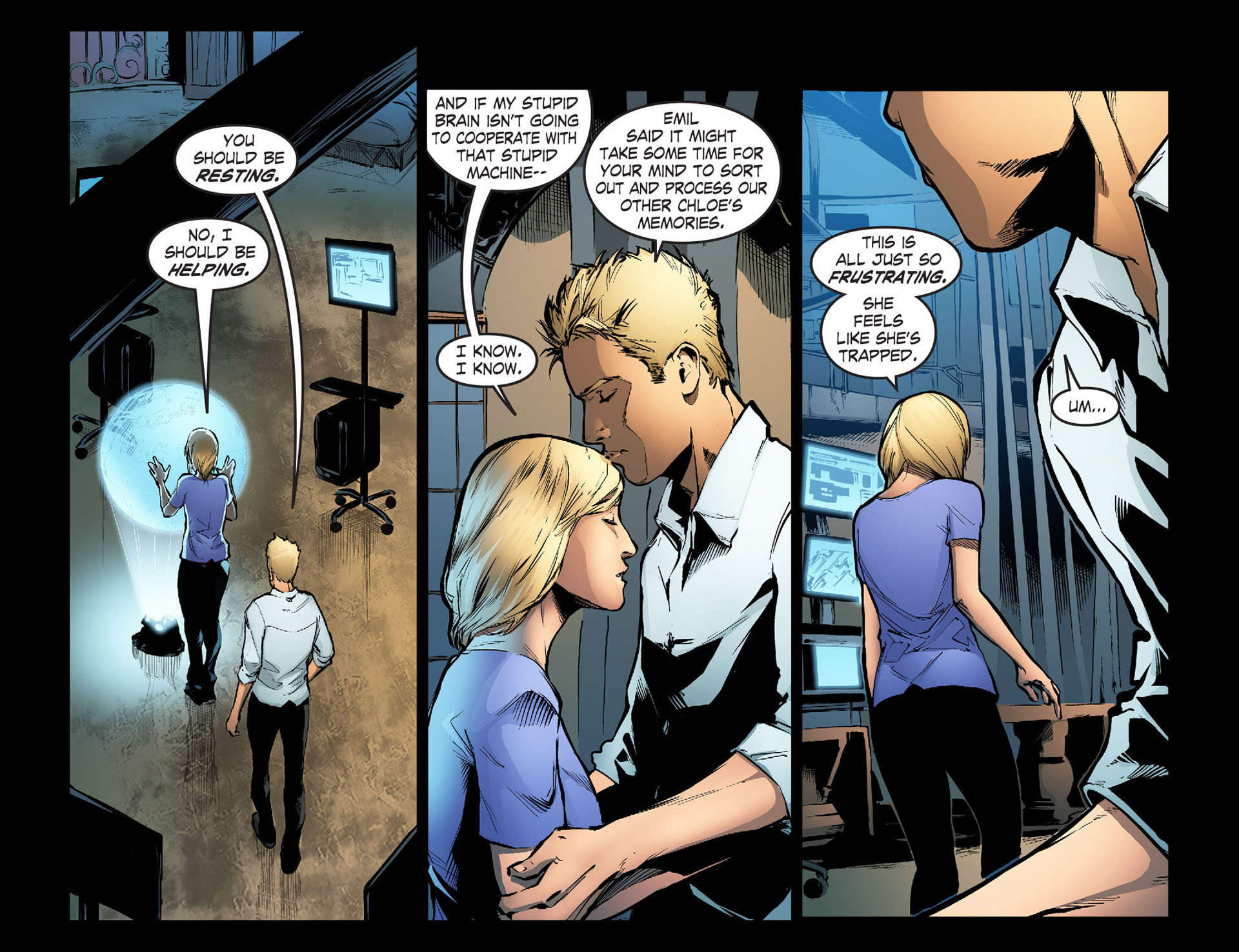 Read online Smallville: Season 11 comic -  Issue #33 - 9