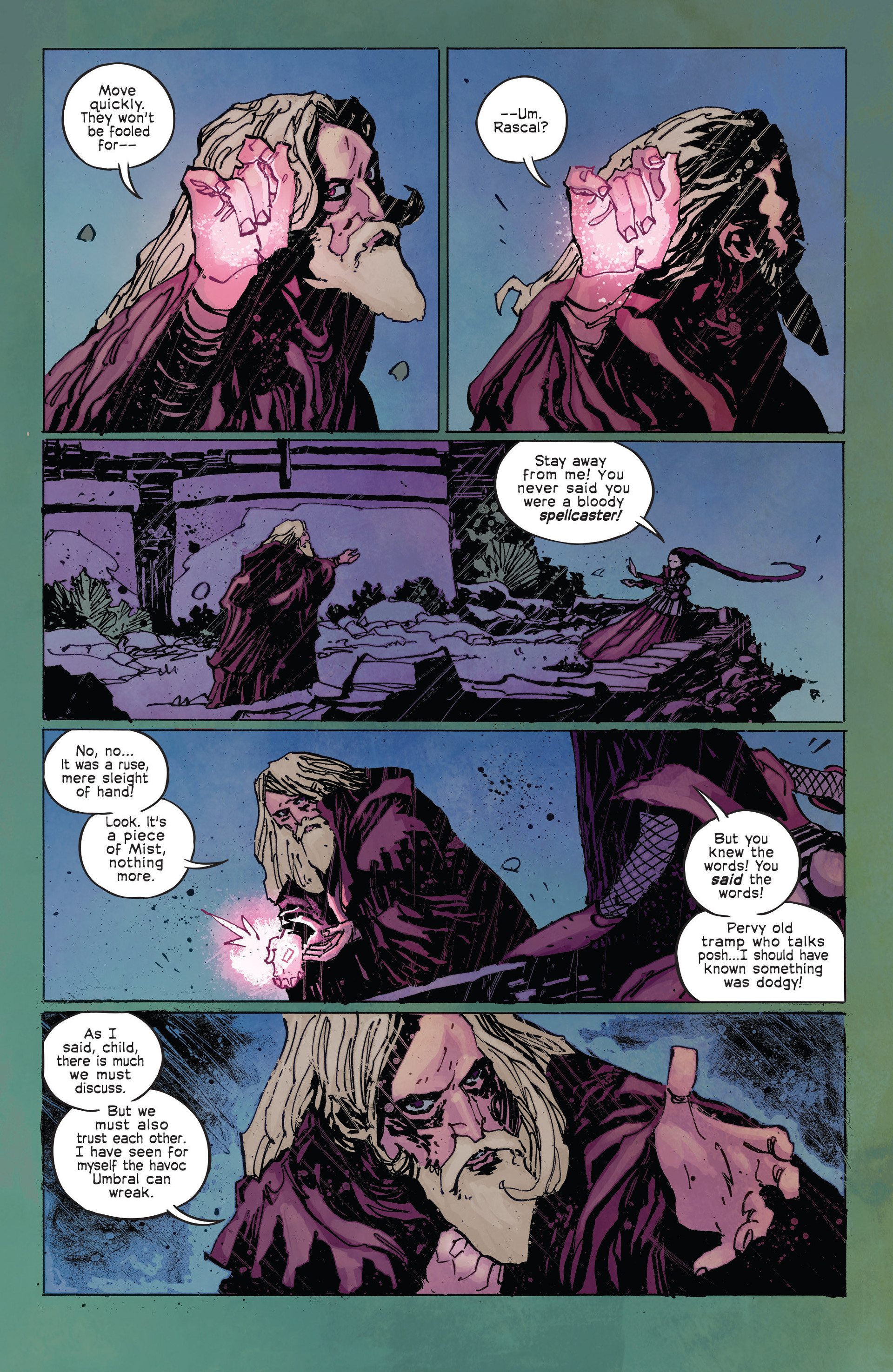 Read online Umbral comic -  Issue #2 - 16