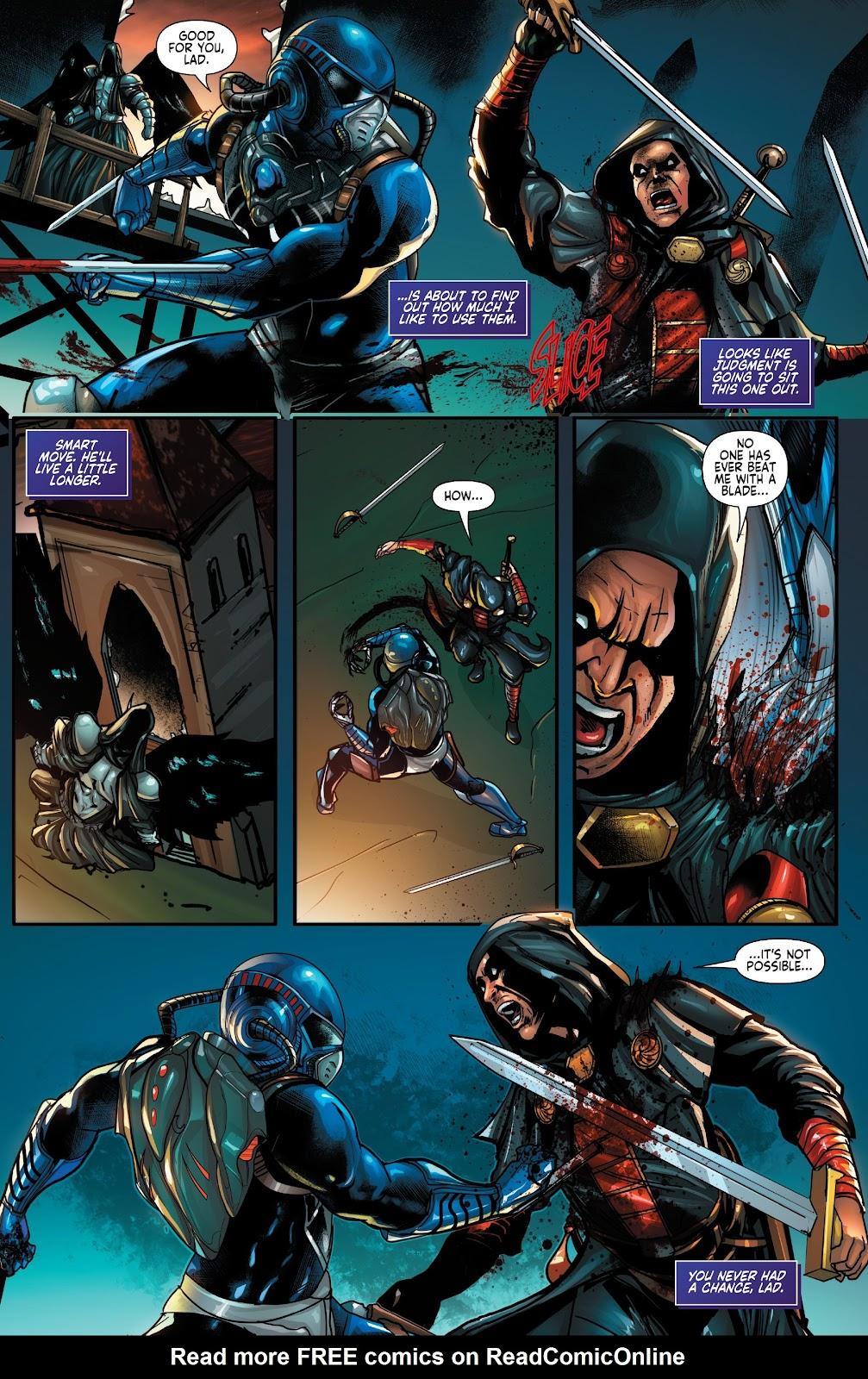 Read online Zodiac comic -  Issue #1 - 10