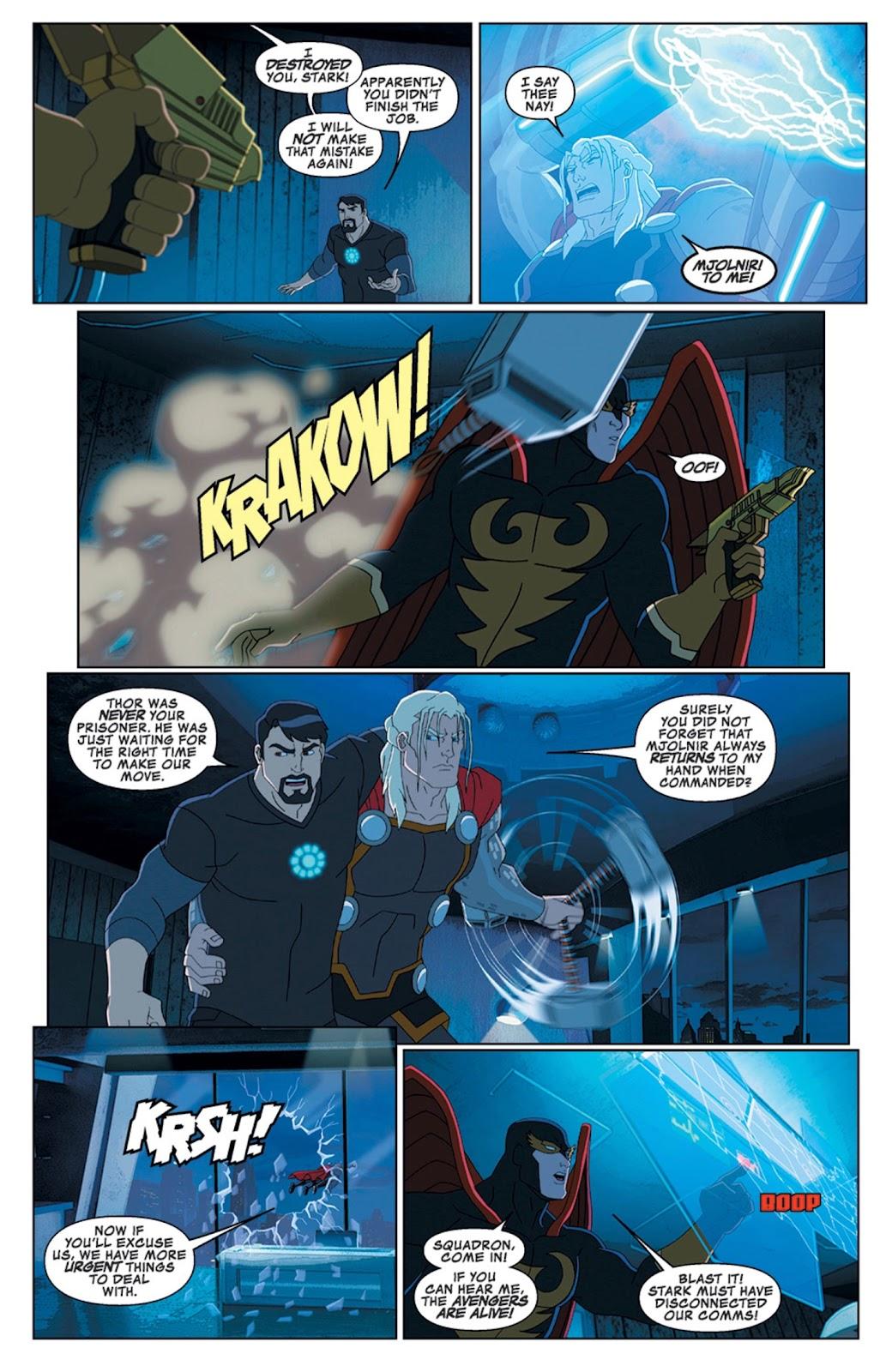 Read online Marvel Universe Avengers Assemble Season 2 comic -  Issue #14 - 8