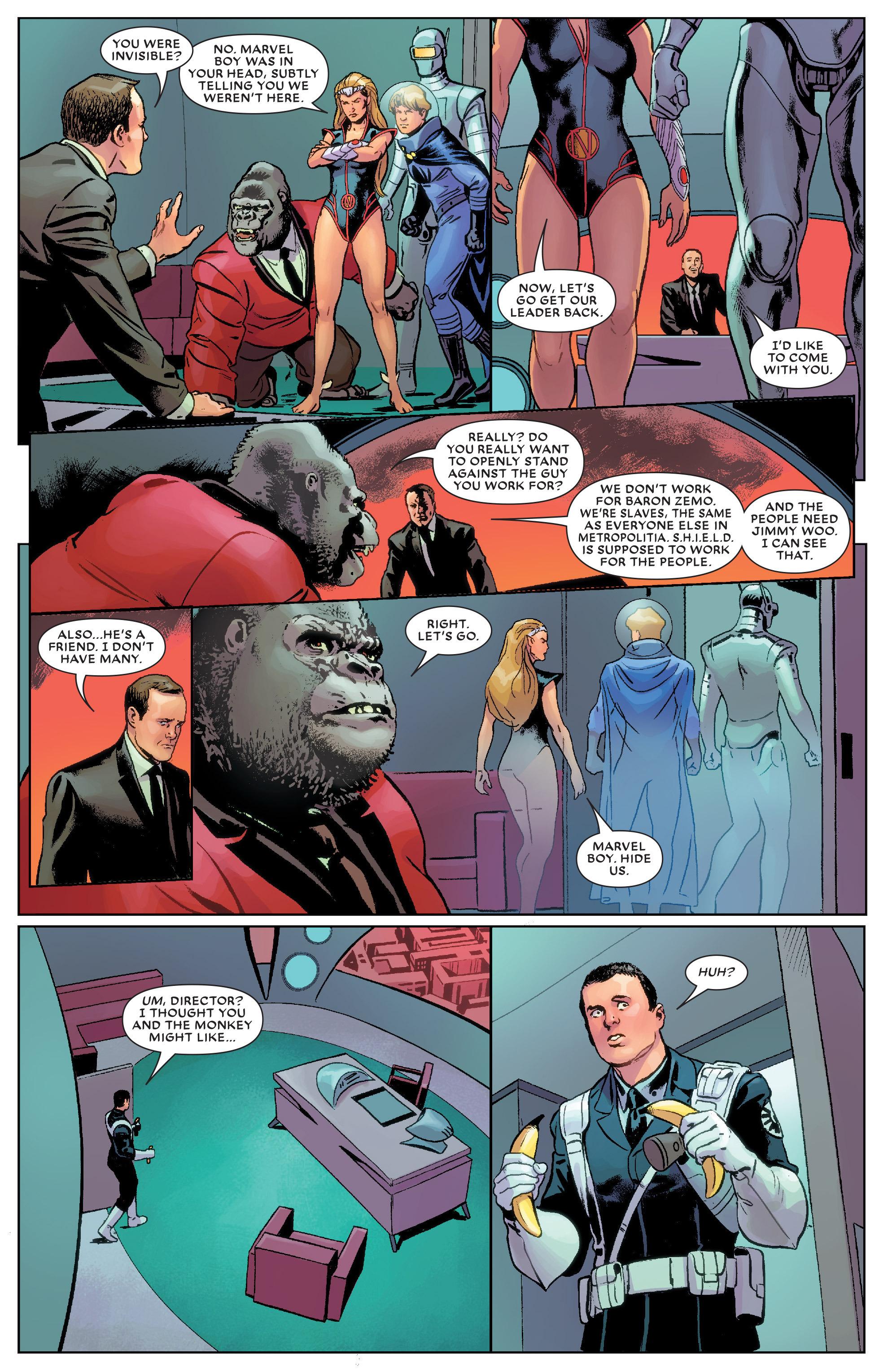 Read online Secret Wars: Agents of Atlas comic -  Issue # Full - 17
