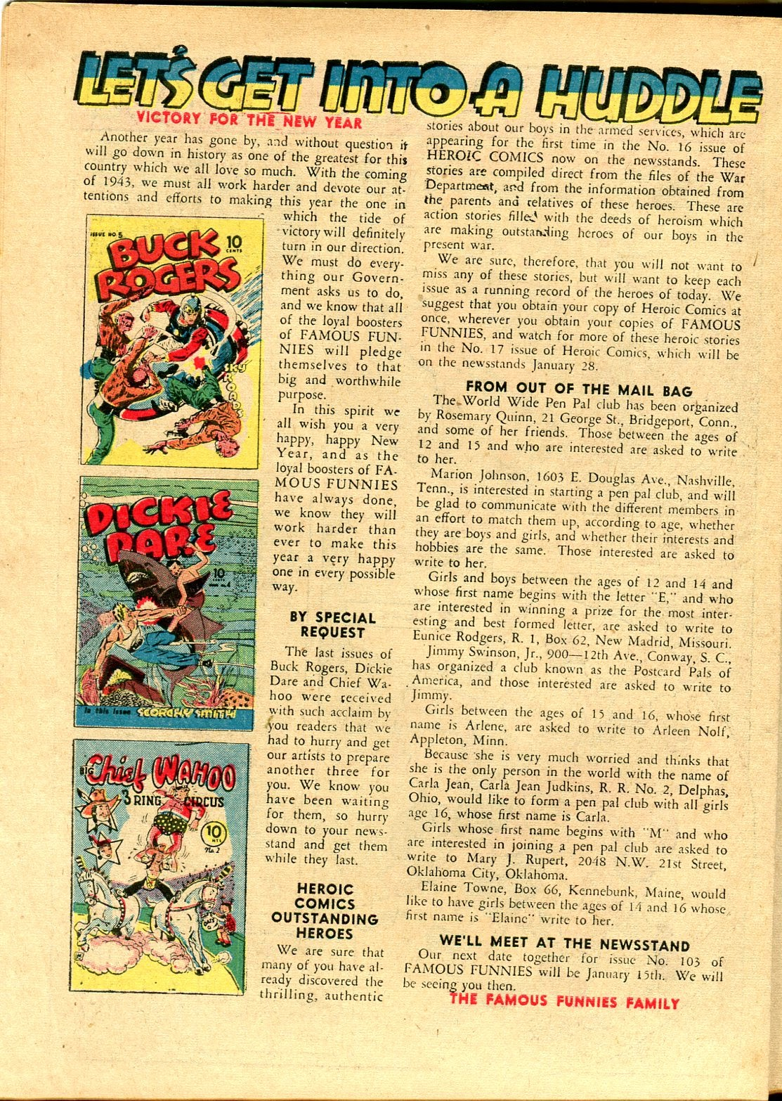 Read online Famous Funnies comic -  Issue #102 - 10
