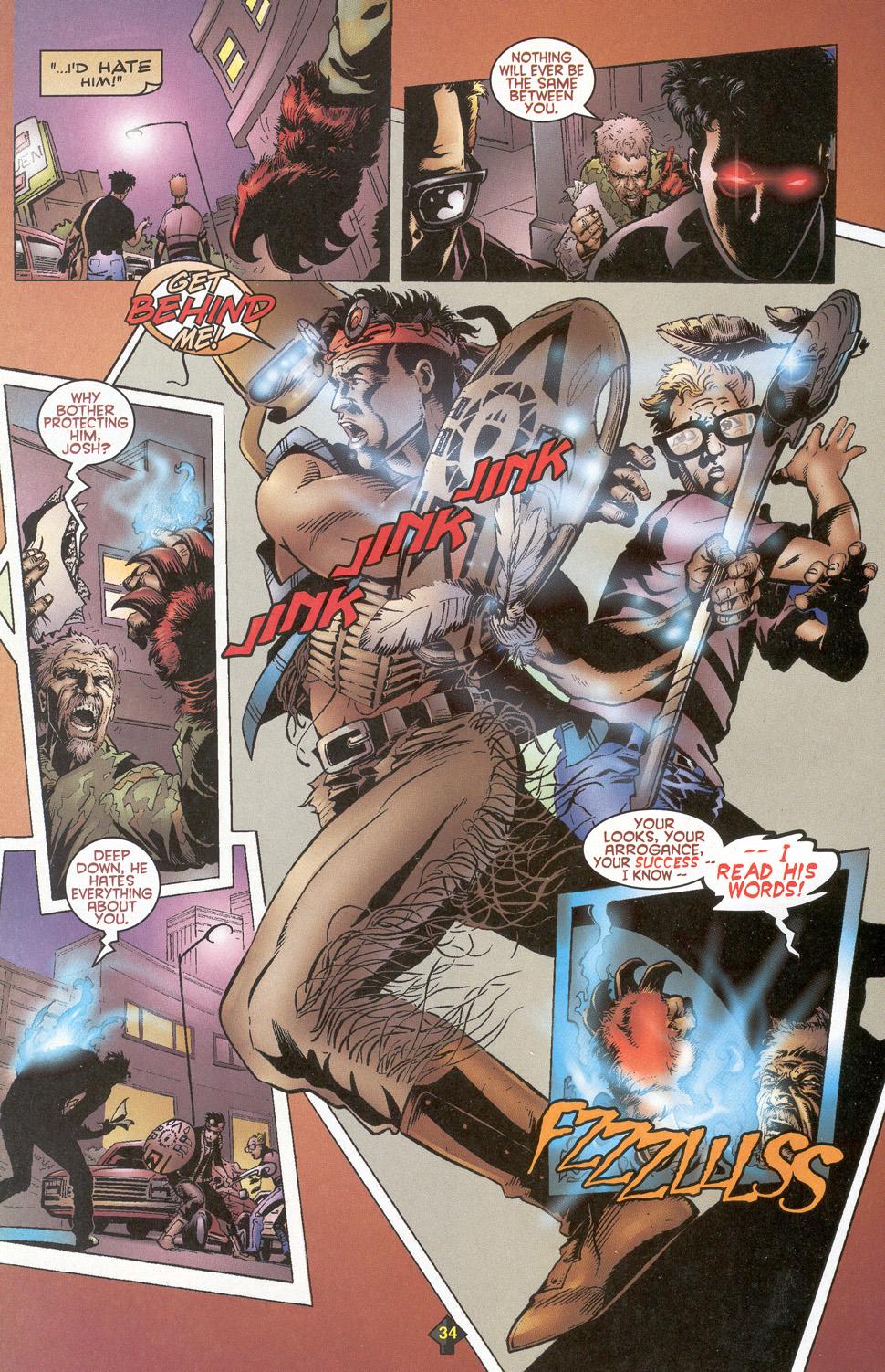 Read online Turok: Redpath comic -  Issue # Full - 32