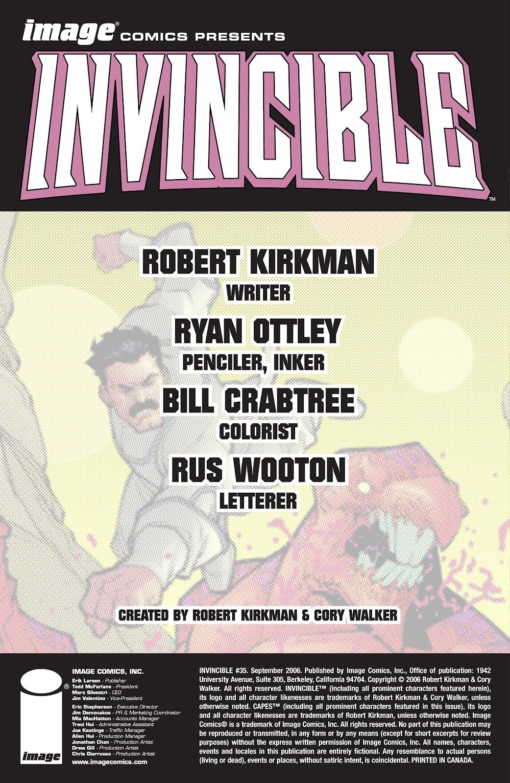 Invincible (2003) 35 Page 2