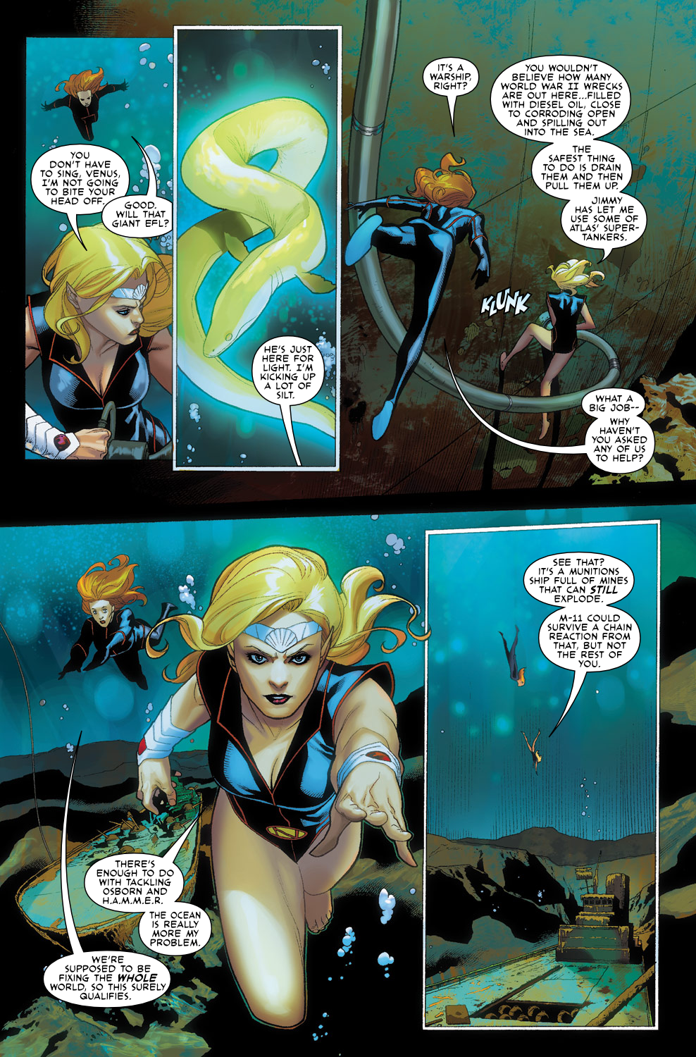 Read online Agents Of Atlas (2009) comic -  Issue #3 - 11
