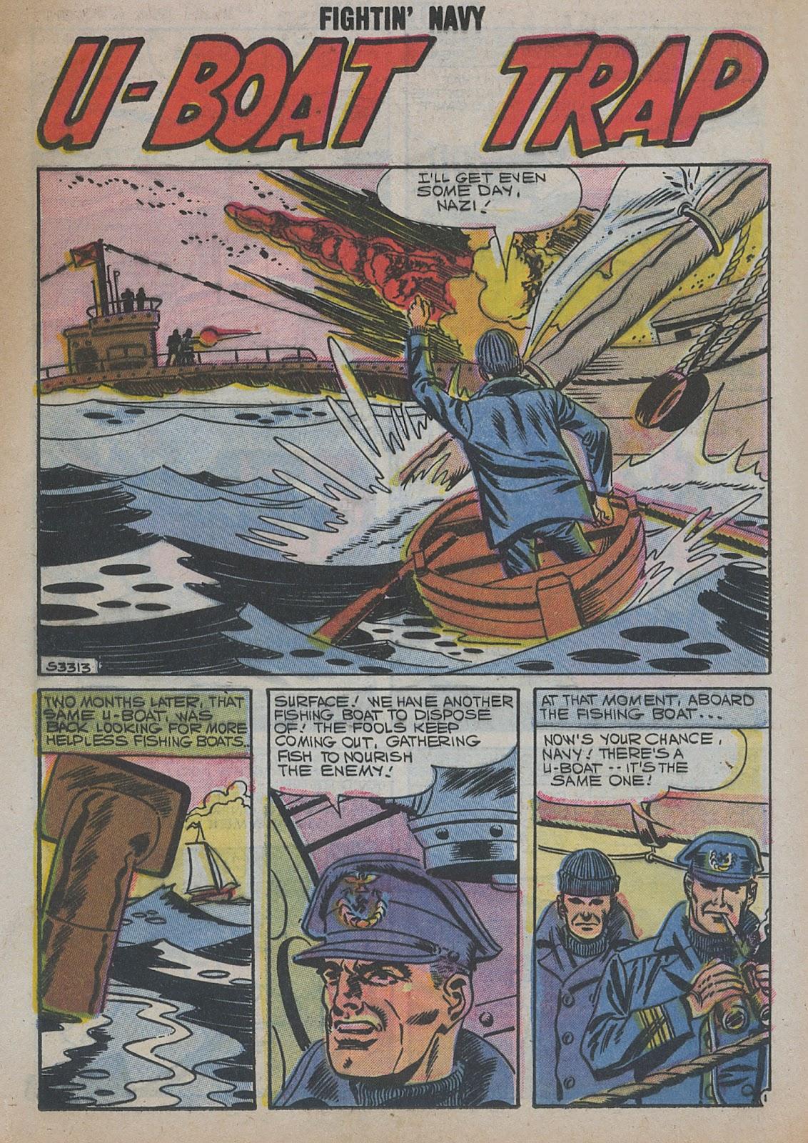 Read online Fightin' Navy comic -  Issue #82 - 49
