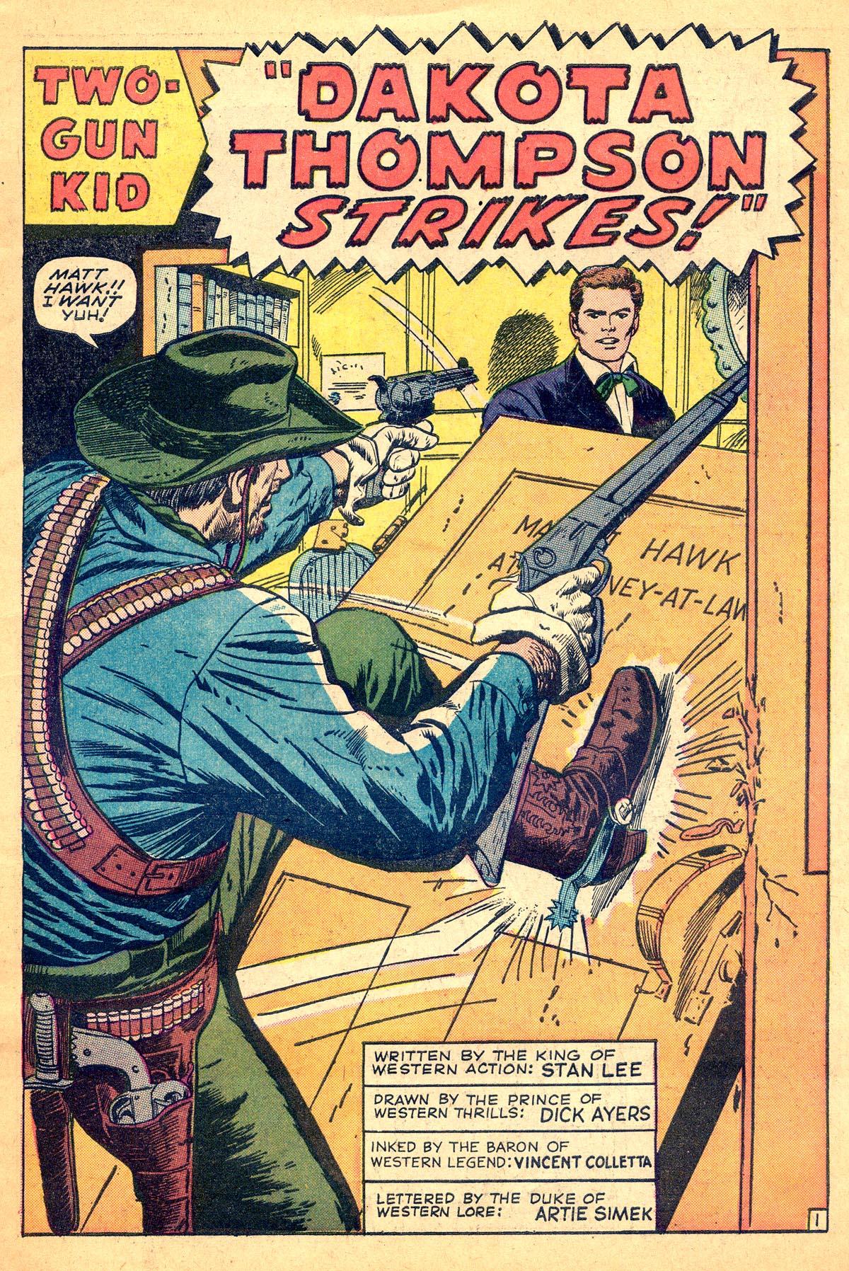 Read online Two-Gun Kid comic -  Issue #74 - 3