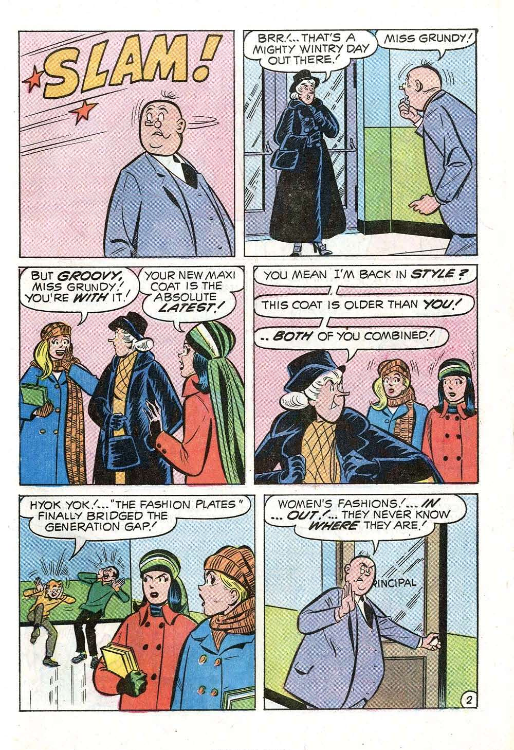 Read online Archie (1960) comic -  Issue #199 - 21