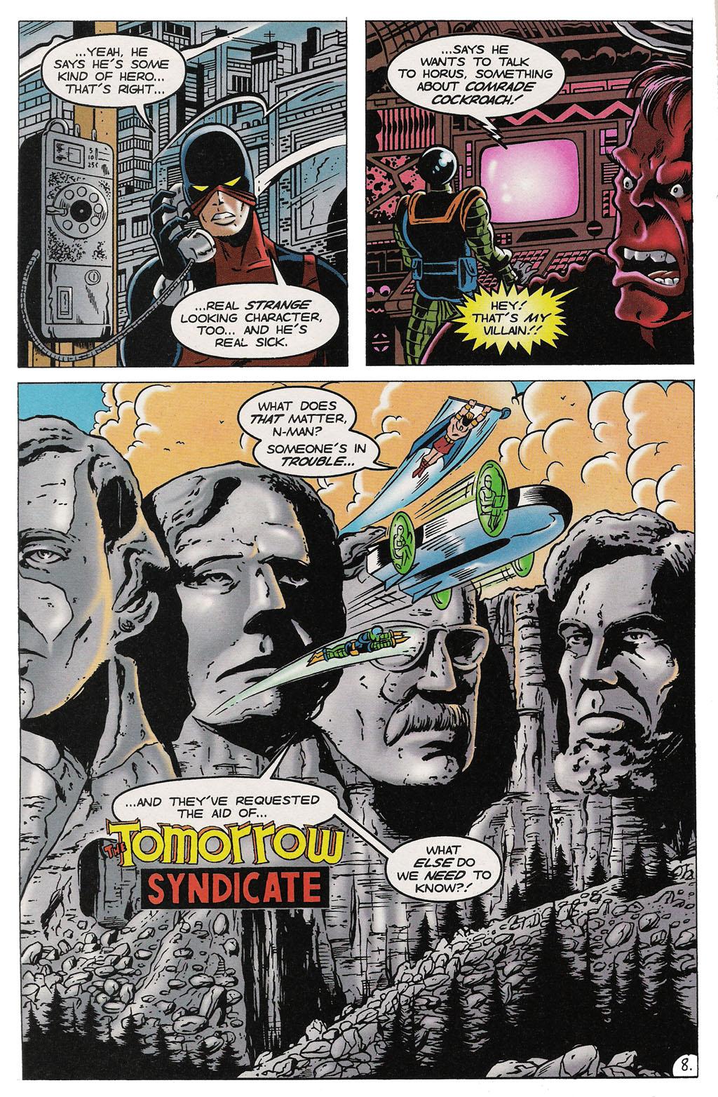 Read online ShadowHawk comic -  Issue #14 - 9