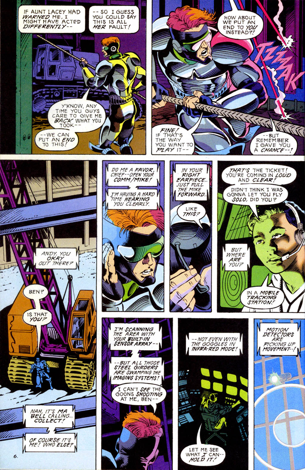 Read online Gunfire comic -  Issue #1 - 8