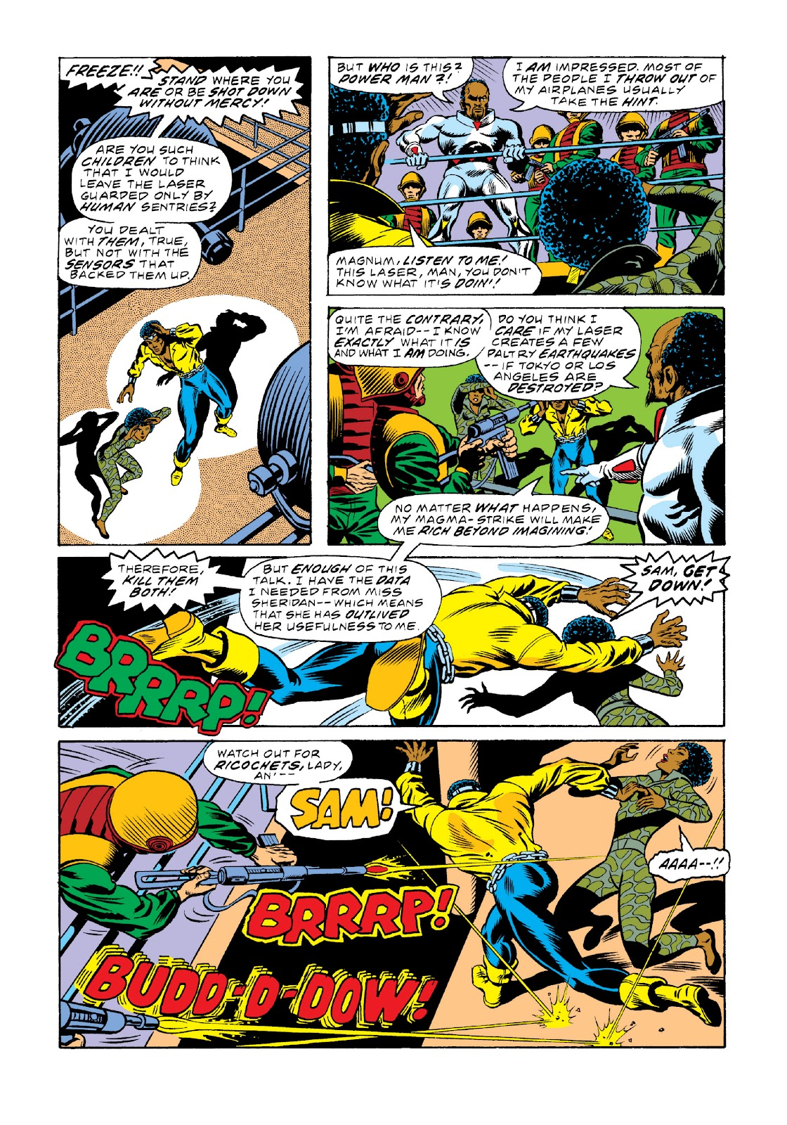 Read online Marvel Masterworks: Luke Cage, Power Man comic -  Issue # TPB 3 (Part 2) - 8