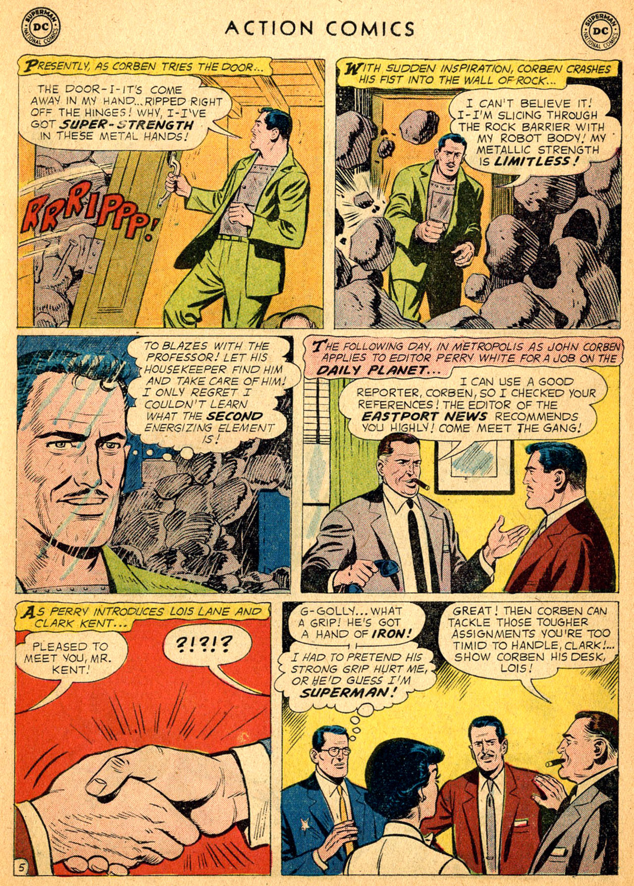 Read online Action Comics (1938) comic -  Issue #252 - 7