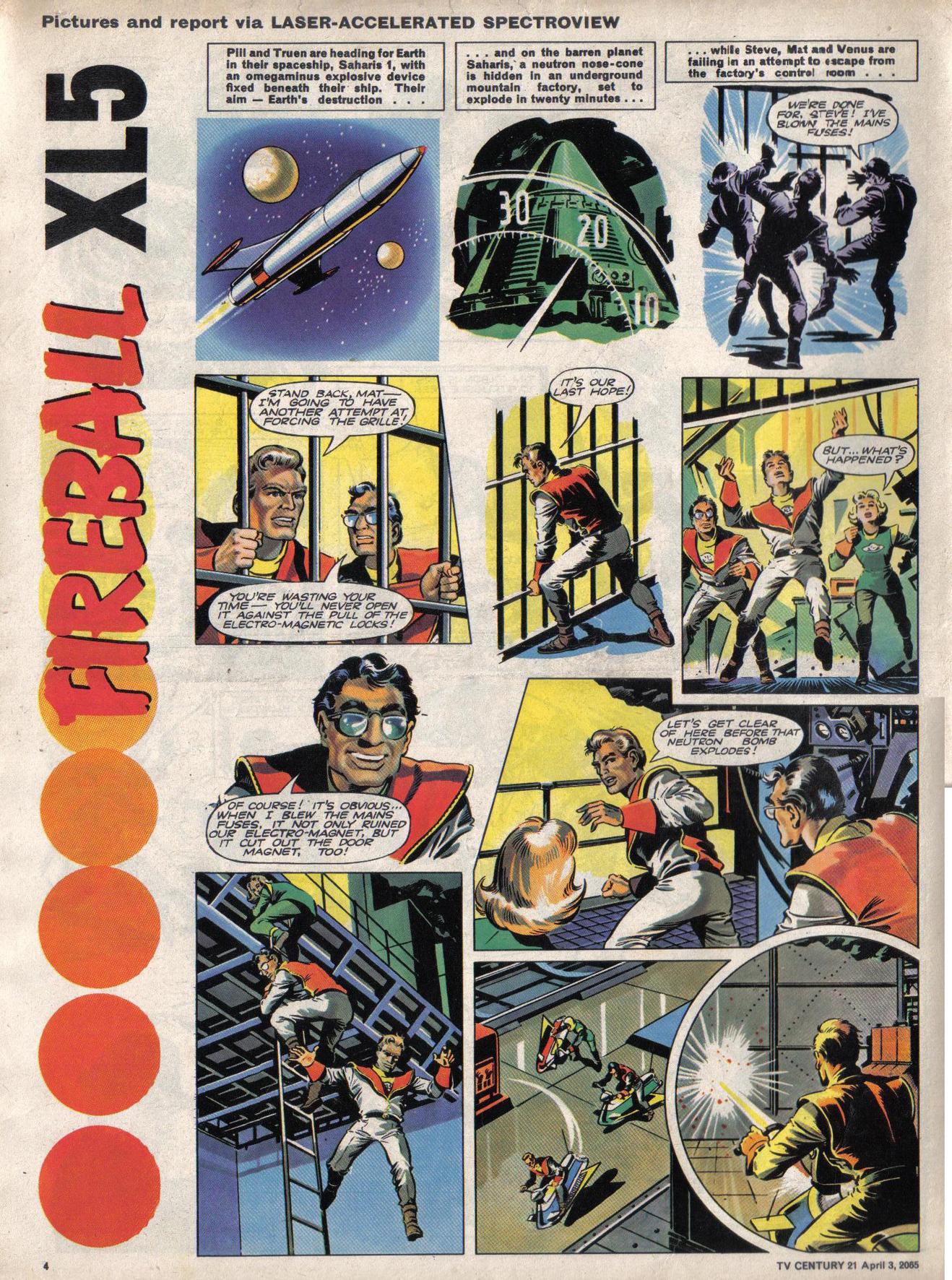 Read online TV Century 21 (TV 21) comic -  Issue #11 - 4