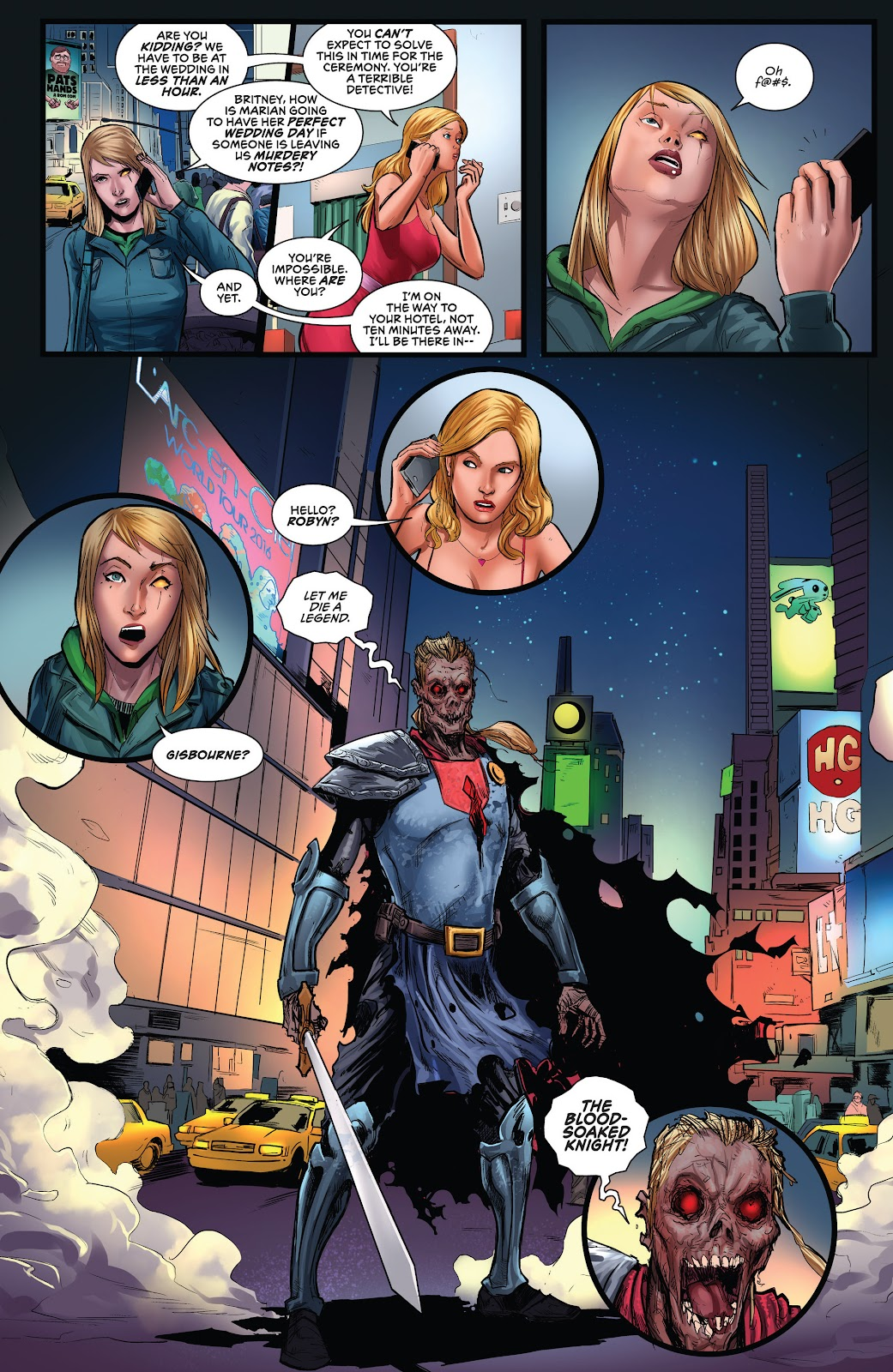 Read online Robyn Hood 2016 Annual comic -  Issue # Full - 14