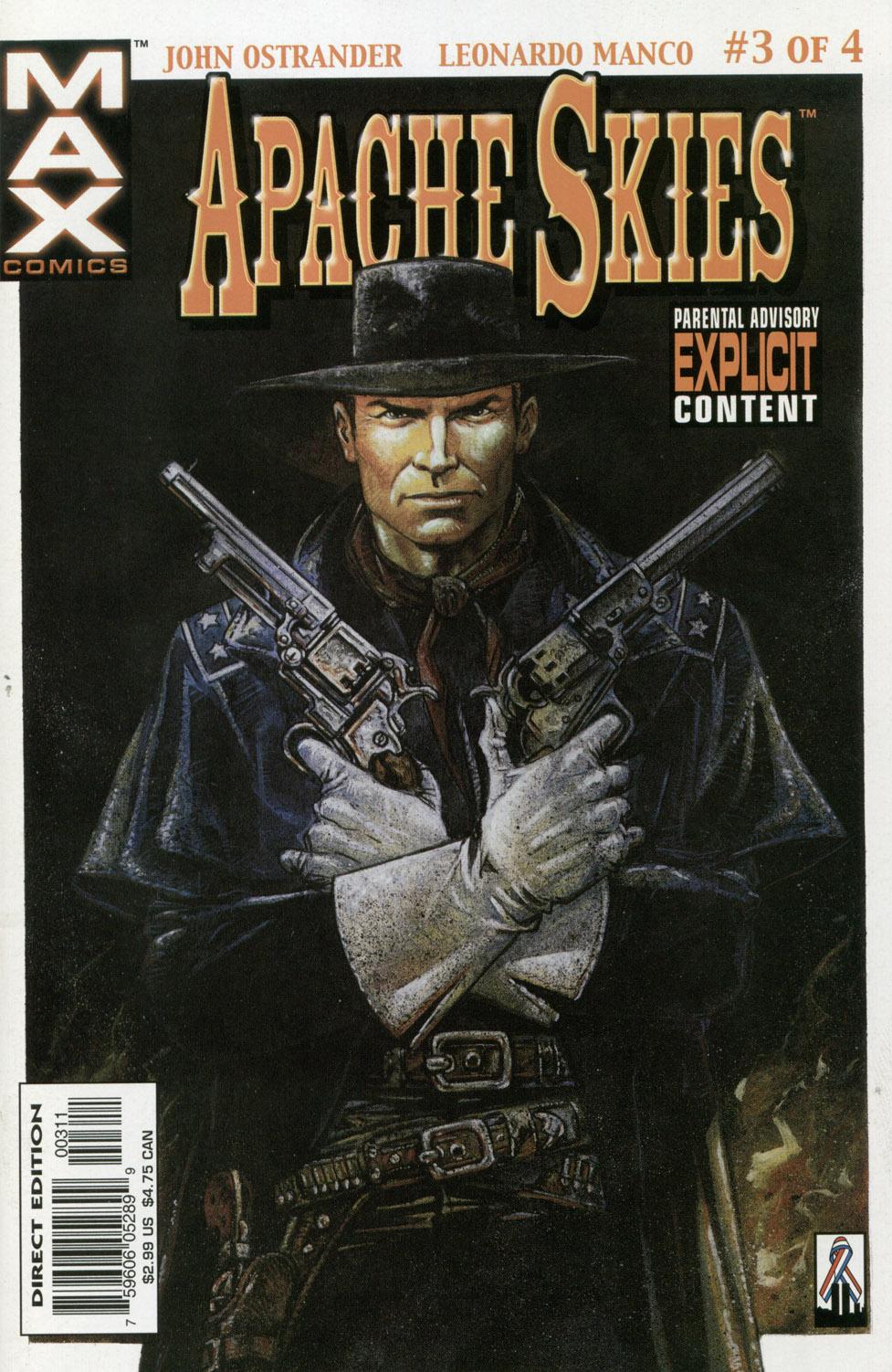 Read online Apache Skies comic -  Issue #3 - 1