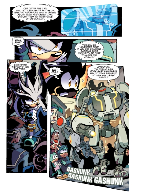 Read online Sonic Comics Spectacular: Speed of Sound comic -  Issue # Full - 104