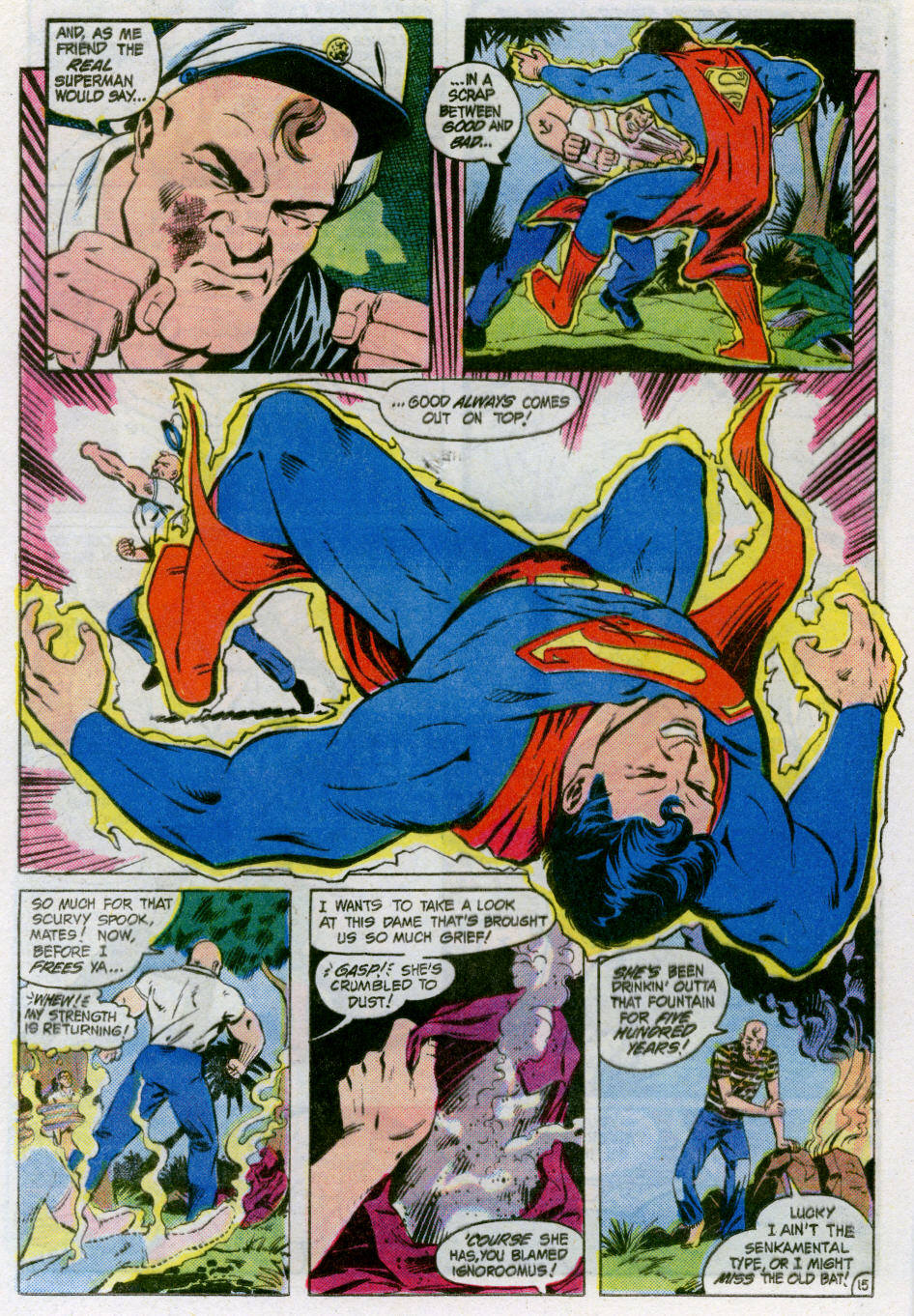 Read online Action Comics (1938) comic -  Issue #566 - 16