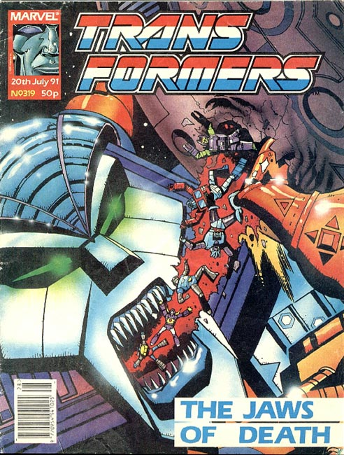 The Transformers (UK) 319 Page 1