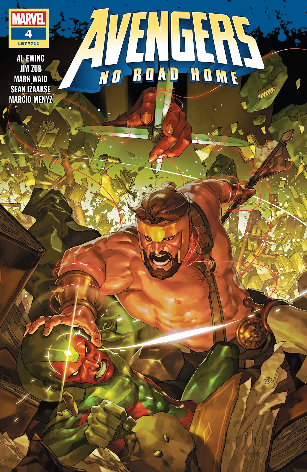 Read online Avengers No Road Home comic -  Issue #4 - 1