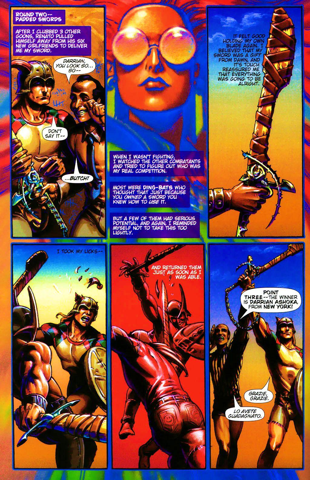 Read online Dawn: Three Tiers comic -  Issue #4 - 16