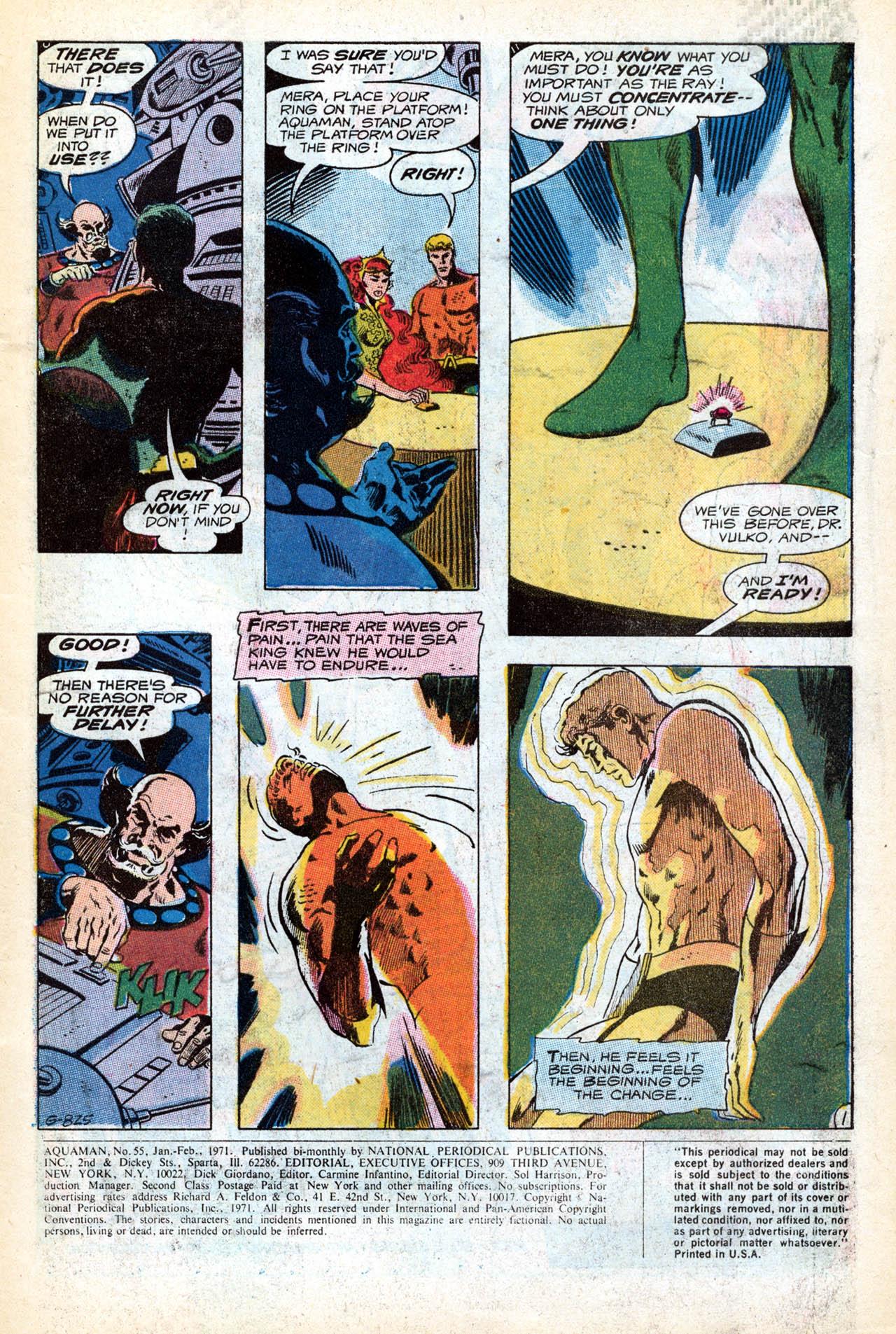 Read online Aquaman (1962) comic -  Issue #55 - 3