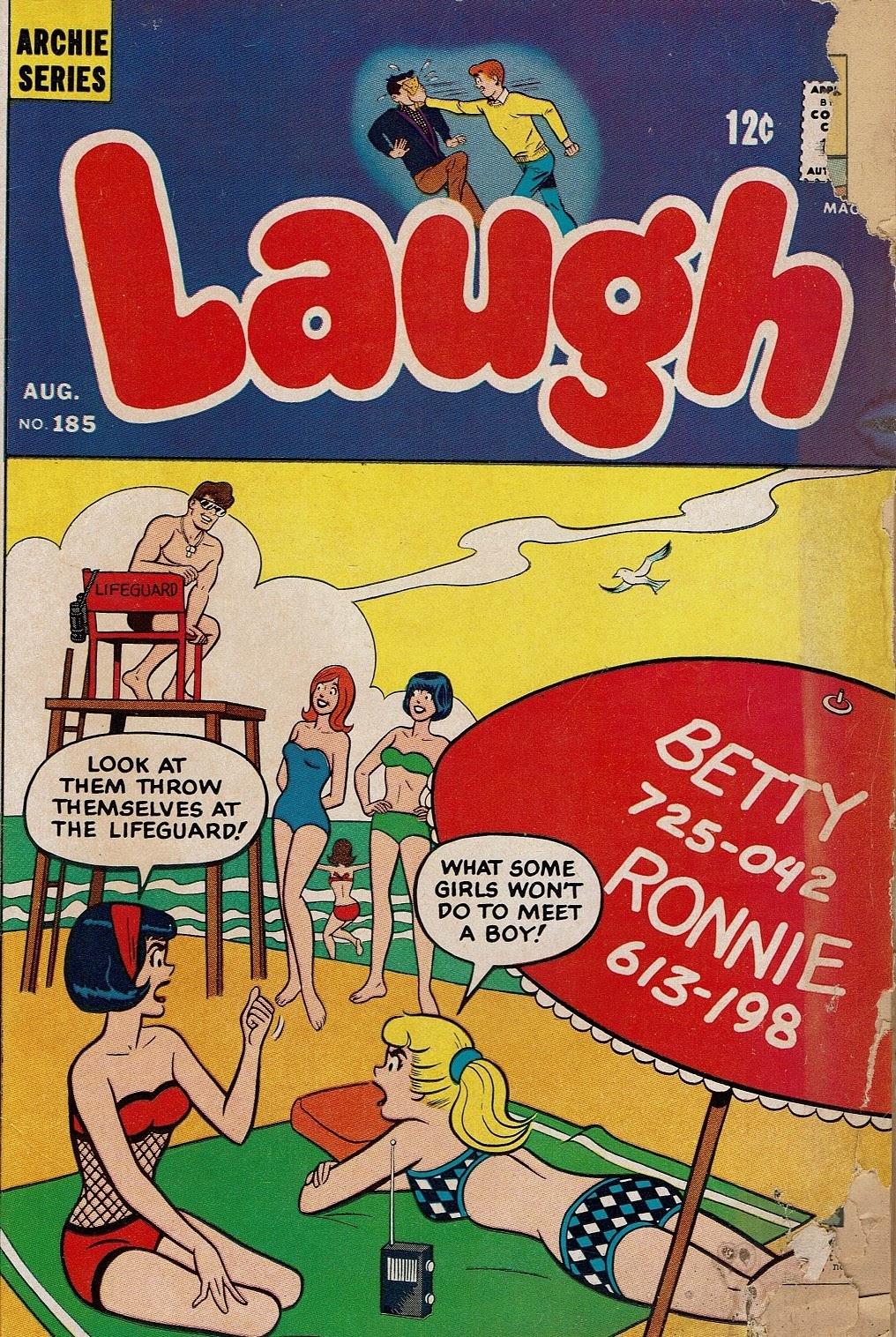 Laugh (Comics) 185 Page 1