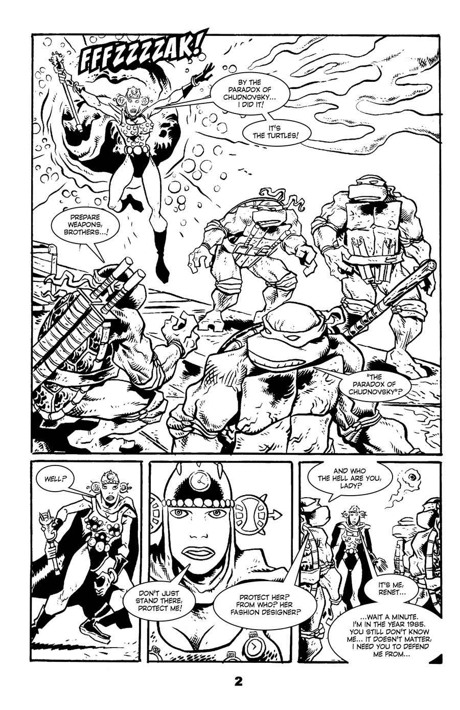 Read online Tales of the TMNT comic -  Issue #71 - 6