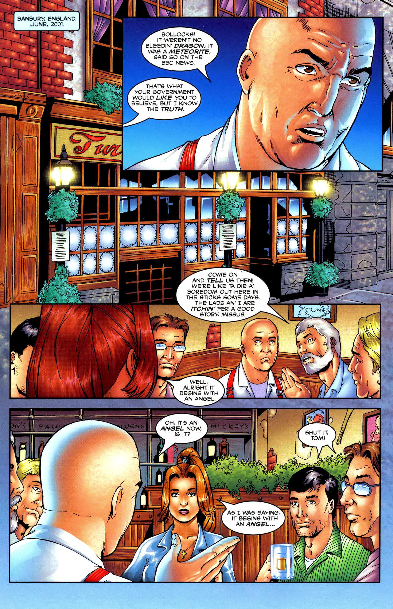 Read online Avengelyne: Dragon Realm comic -  Issue #0.5 - 10