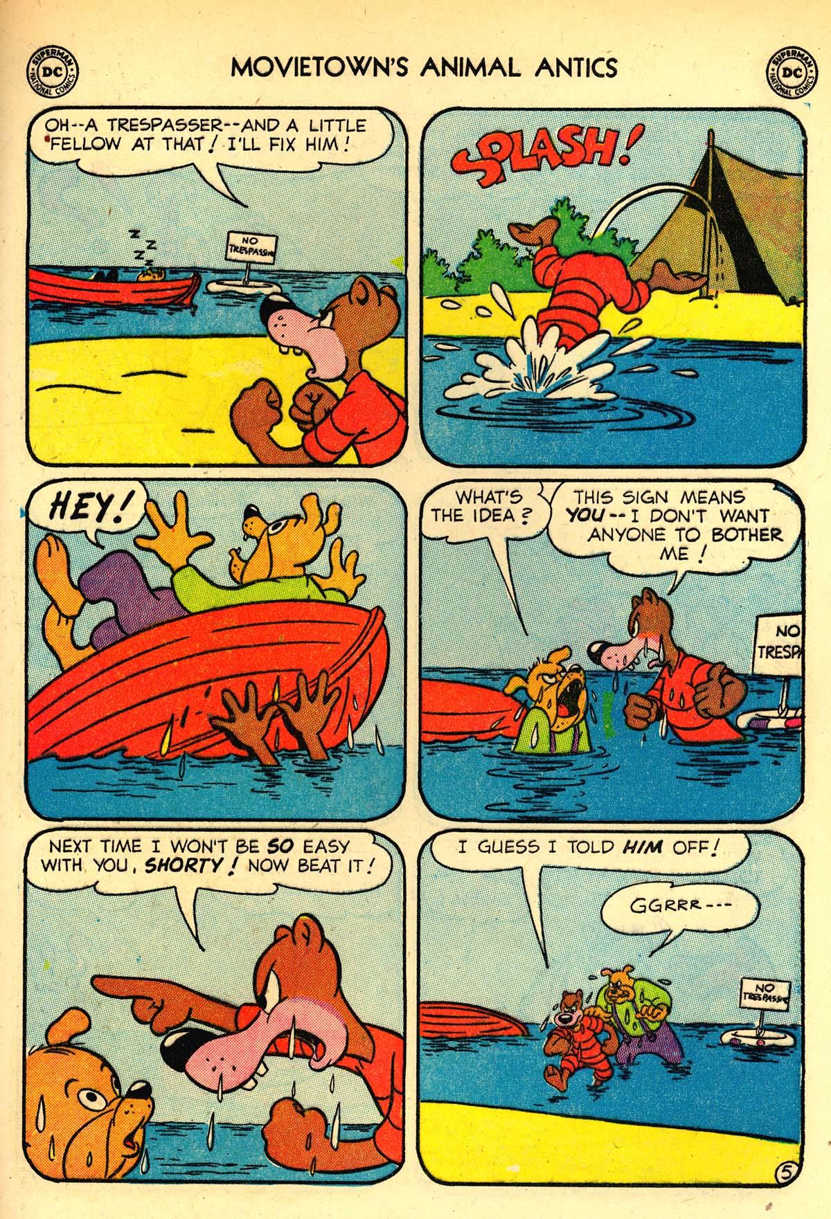 Read online Animal Antics comic -  Issue #33 - 49