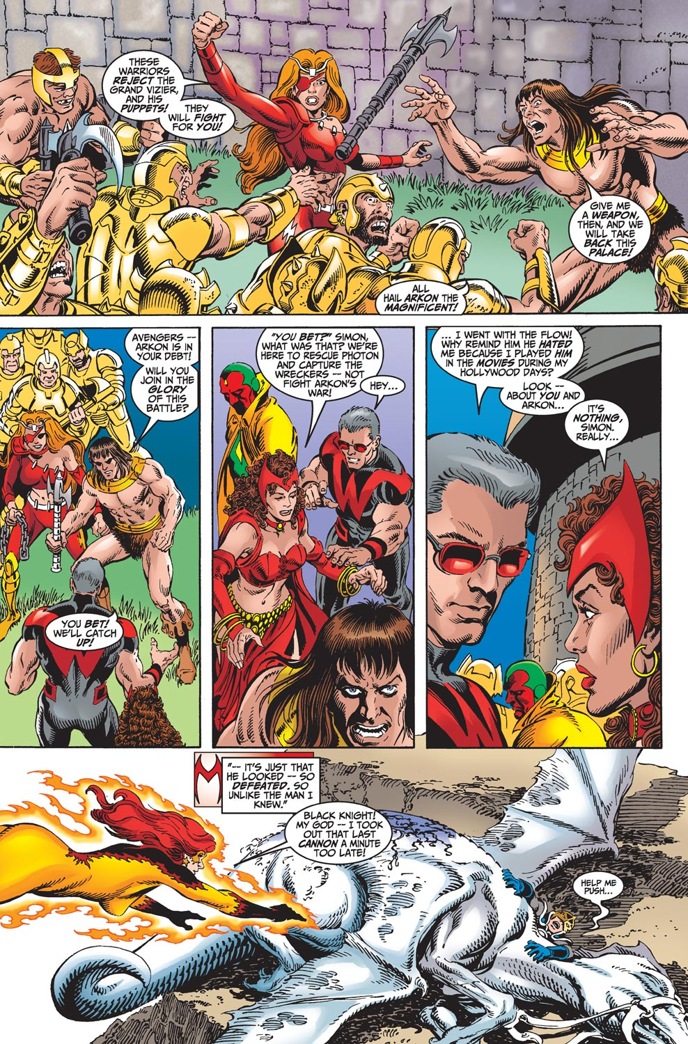 Read online Avengers (1998) comic -  Issue #18 - 12