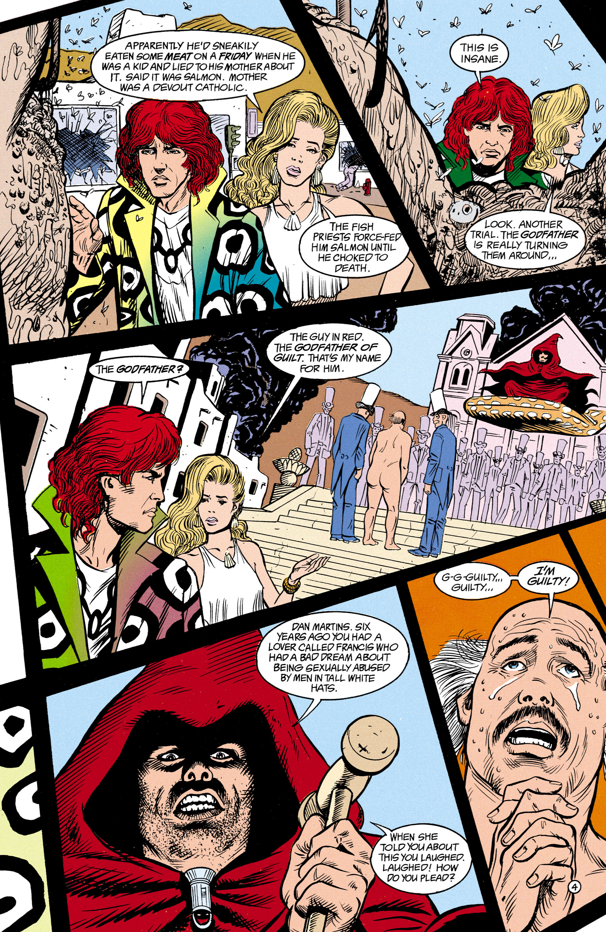 Read online Shade, the Changing Man comic -  Issue #14 - 5