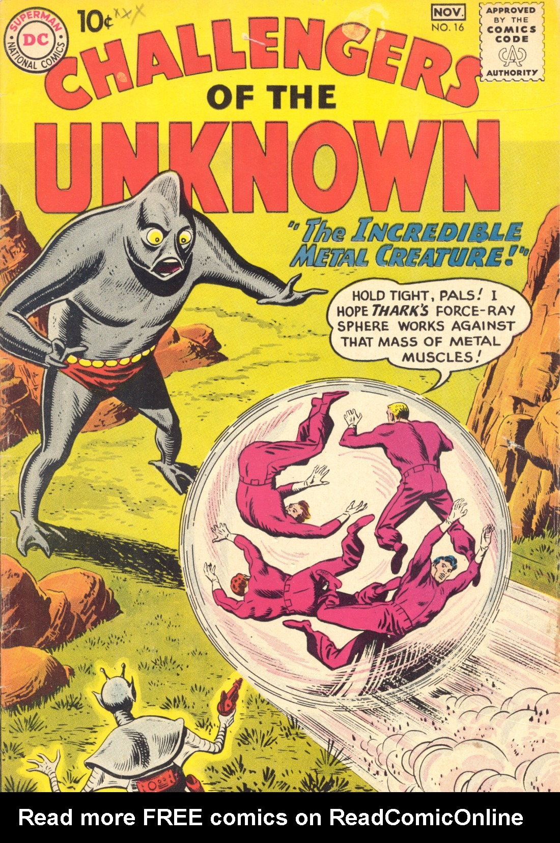 Challengers of the Unknown (1958) 16 Page 1
