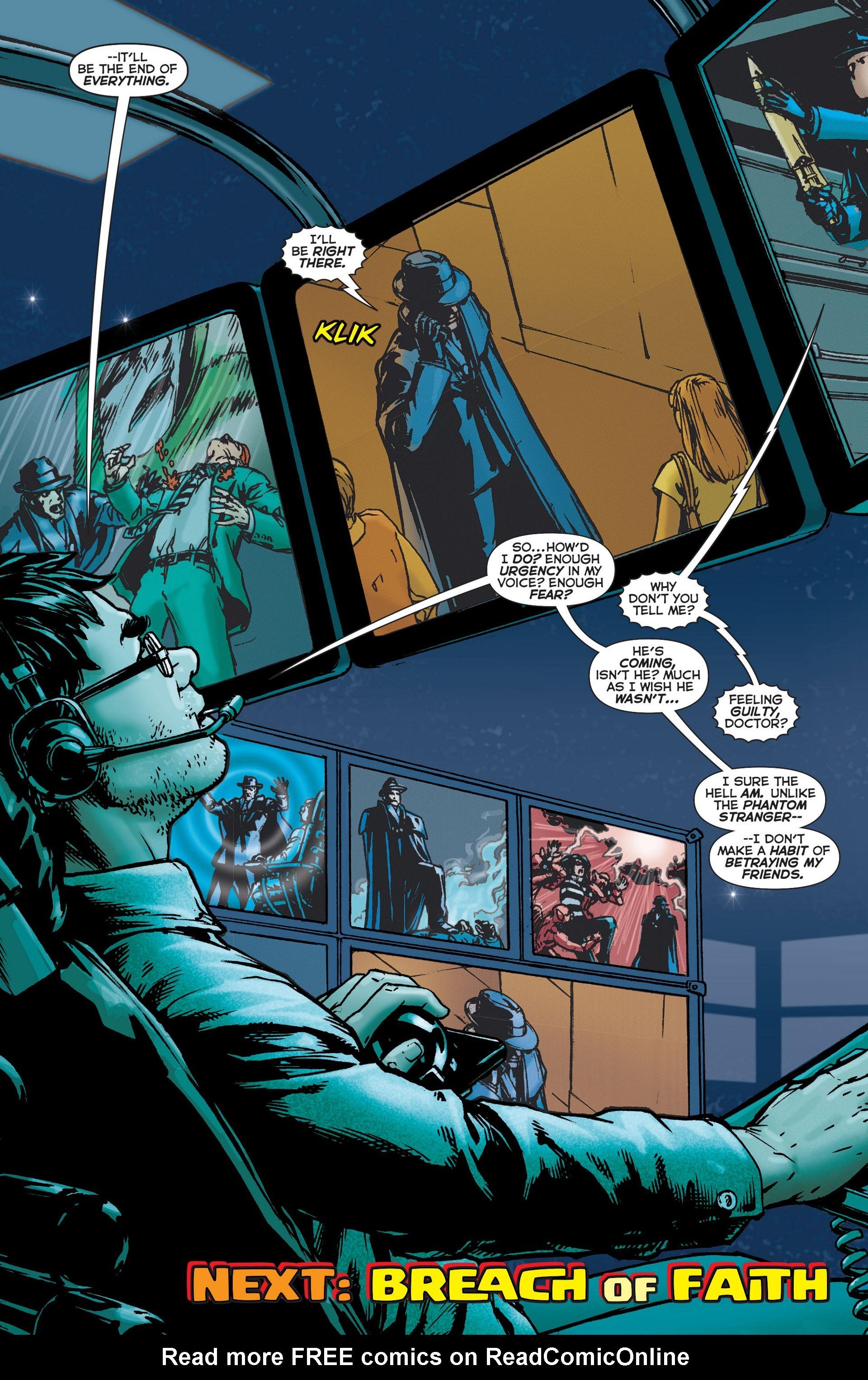 Read online Trinity of Sin: The Phantom Stranger comic -  Issue #6 - 20