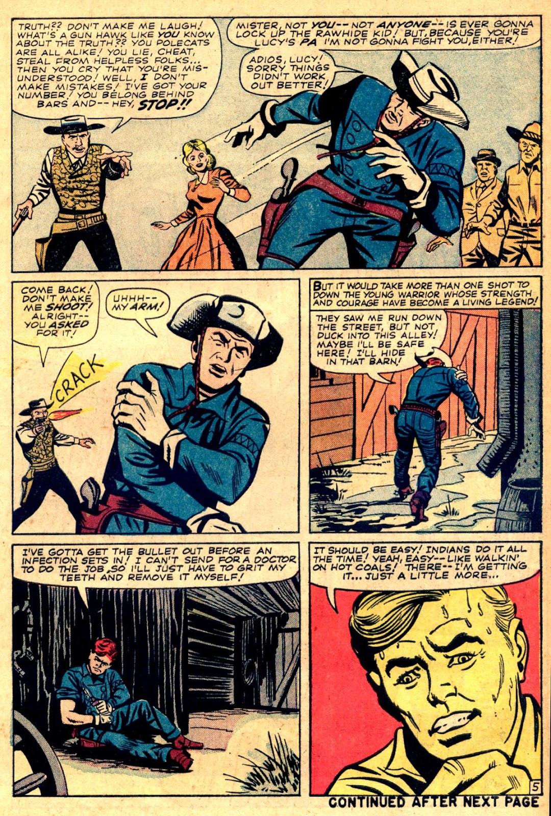 The Rawhide Kid (1955) issue 43 - Page 7