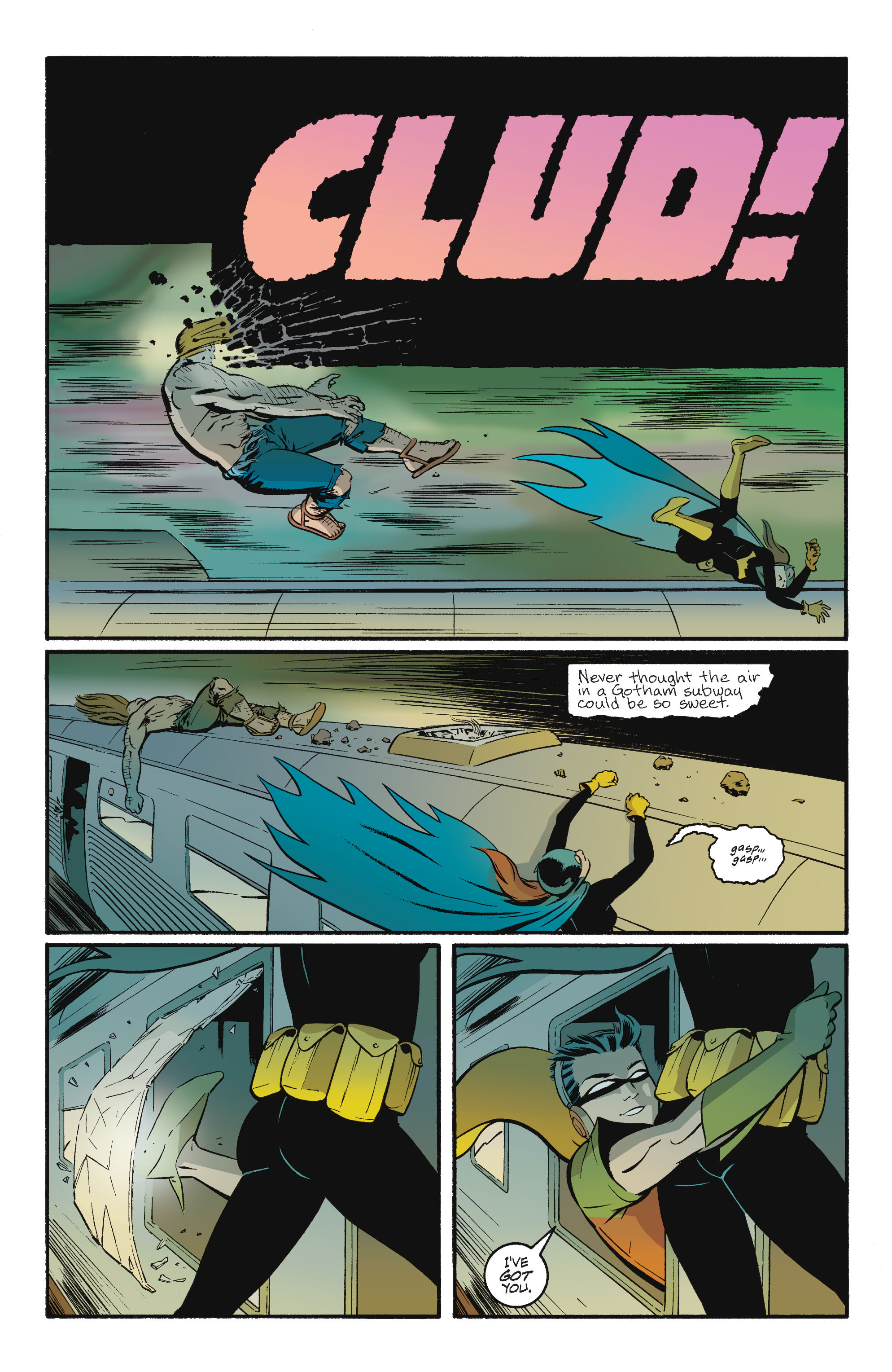 Read online Batgirl/Robin: Year One comic -  Issue # TPB 2 - 170