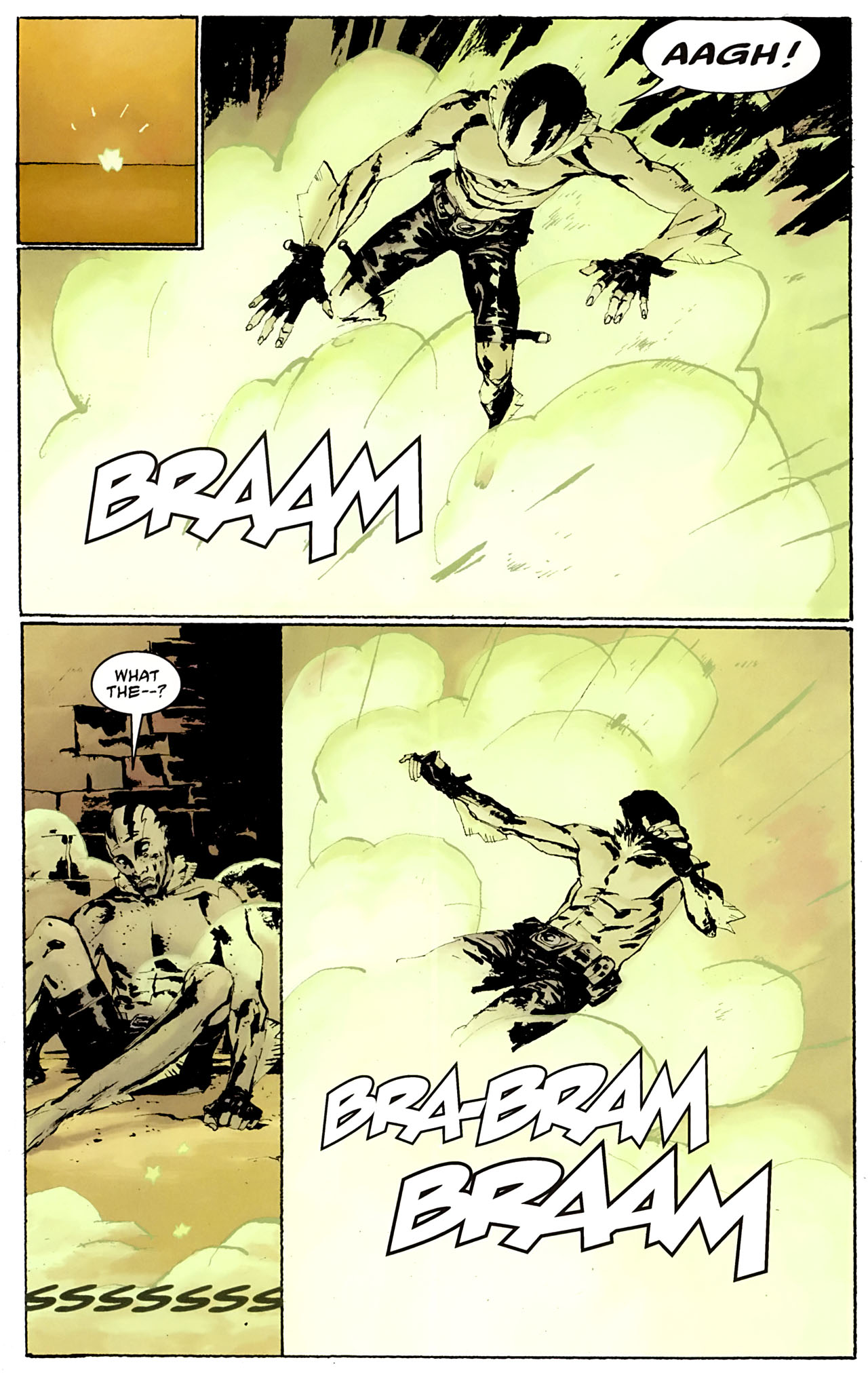 Read online Abe Sapien: The Drowning comic -  Issue #3 - 4