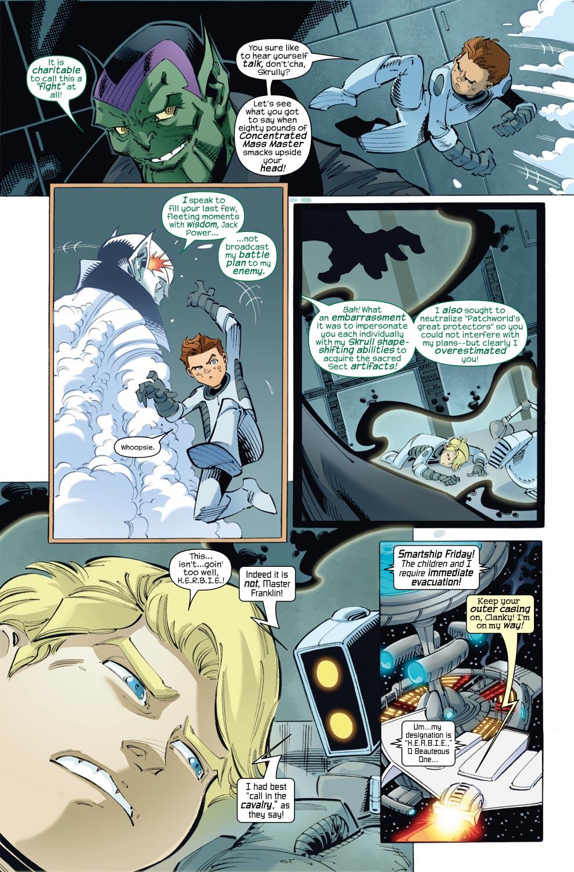 Read online Skrulls vs. Power Pack comic -  Issue #3 - 4