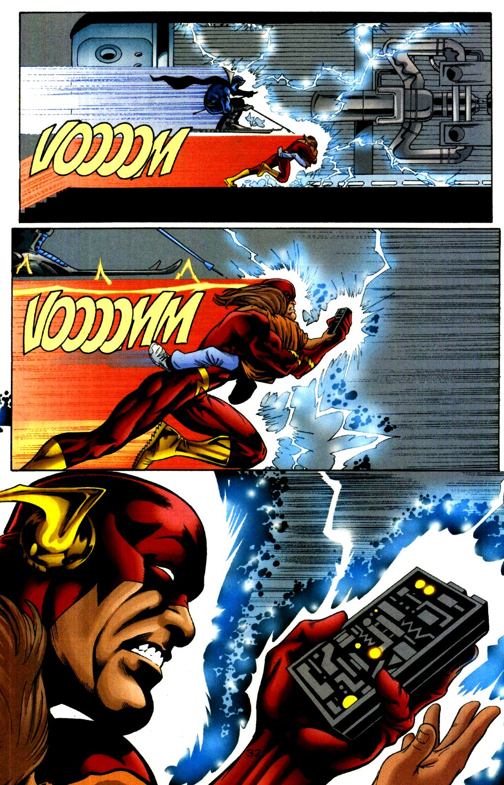 Read online The Flash: Our Worlds at War comic -  Issue # Full - 32