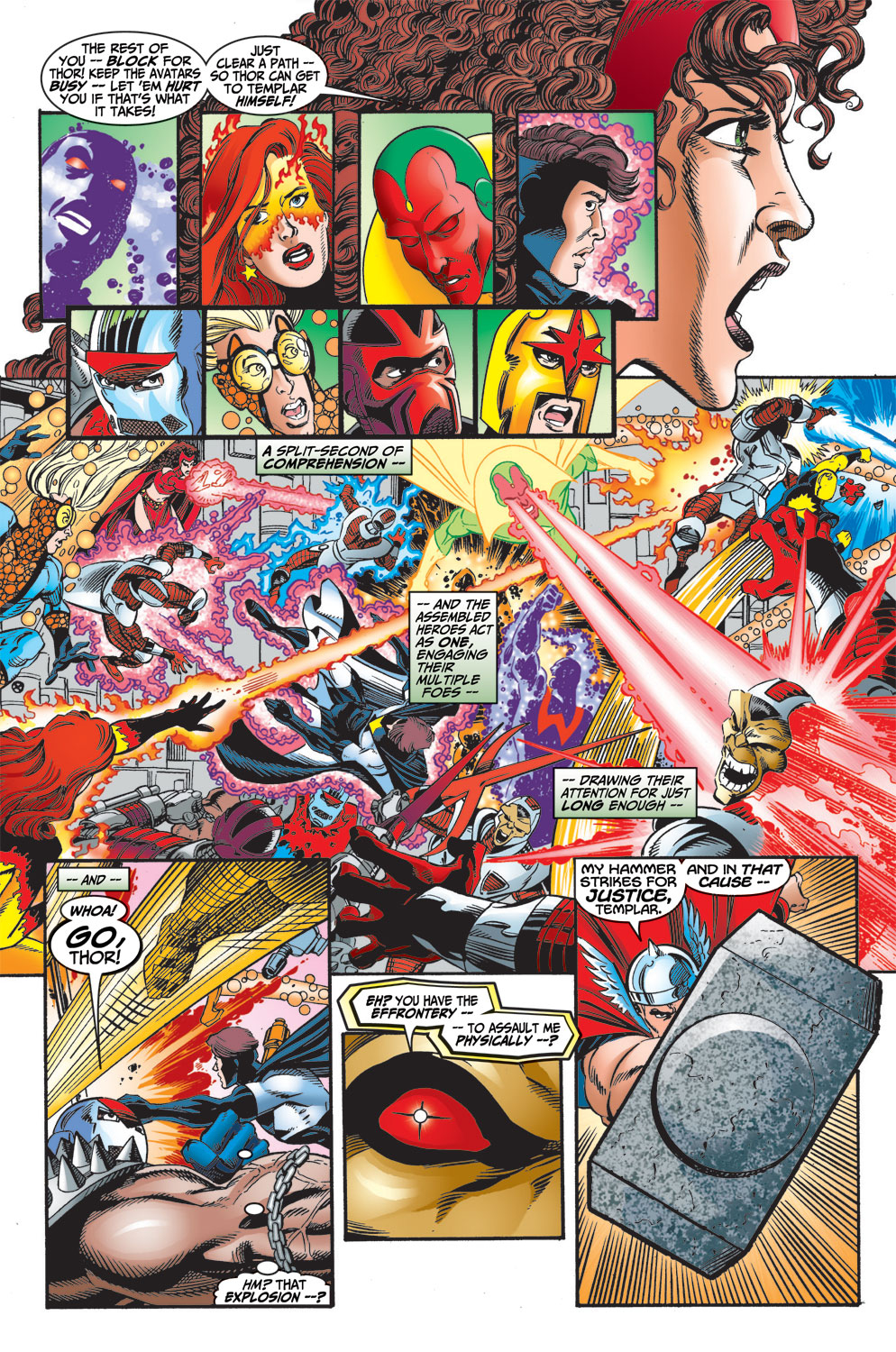 Read online Avengers (1998) comic -  Issue #13 - 20