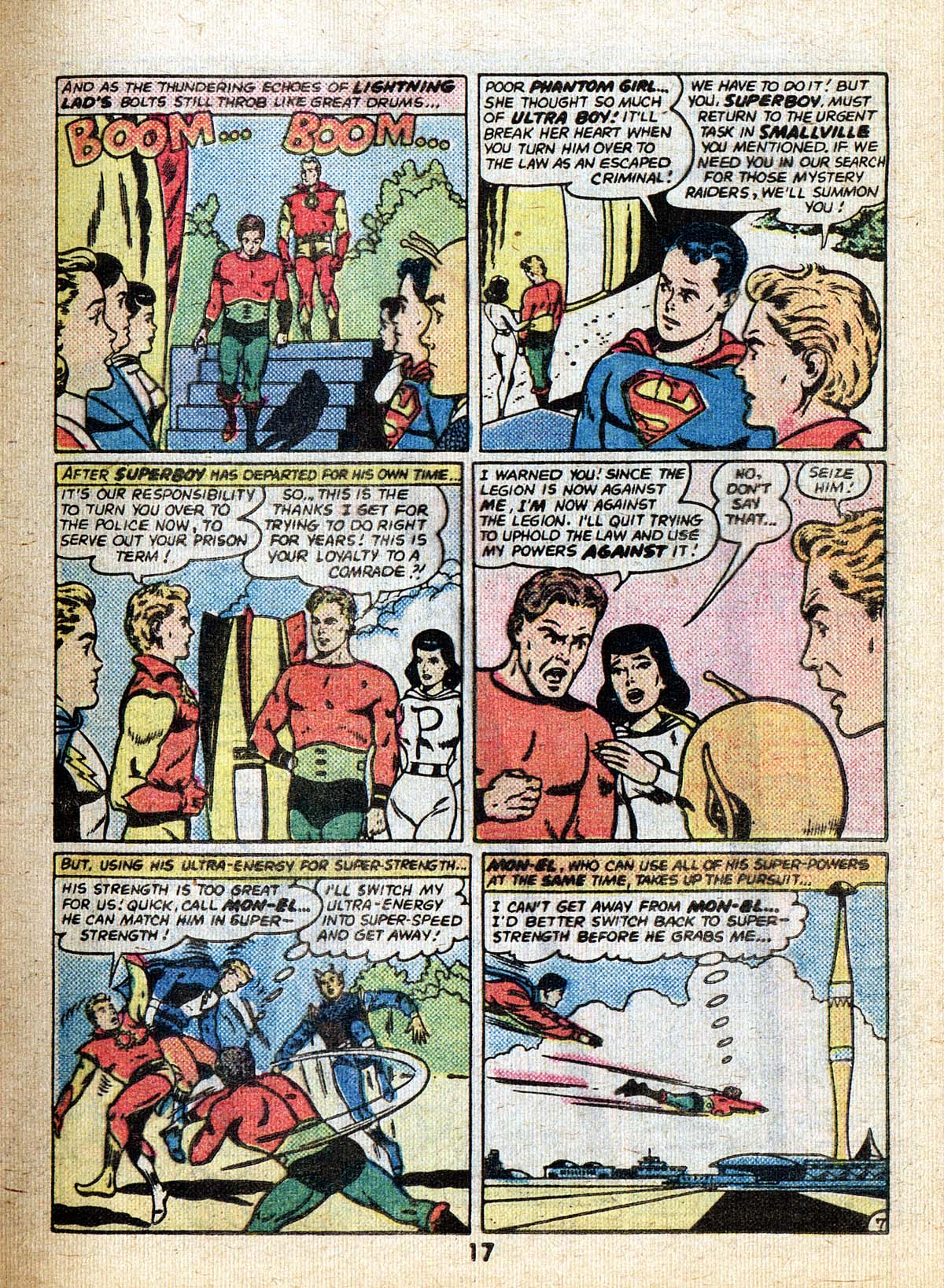 Read online Adventure Comics (1938) comic -  Issue #502 - 17