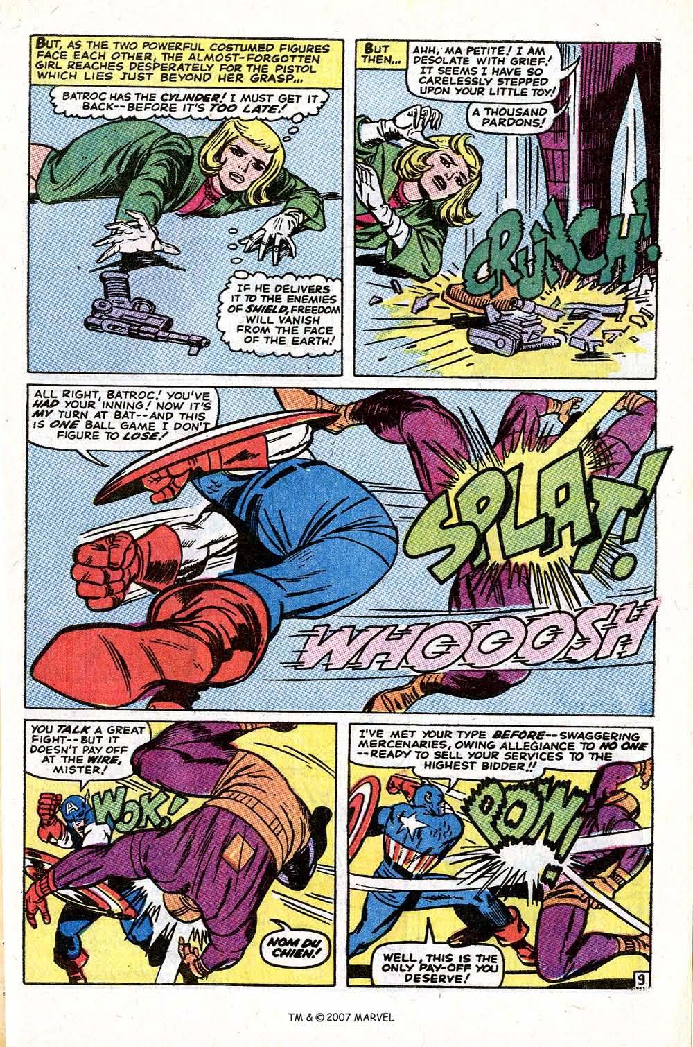 Read online Captain America (1968) comic -  Issue # _Annual 1 - 63