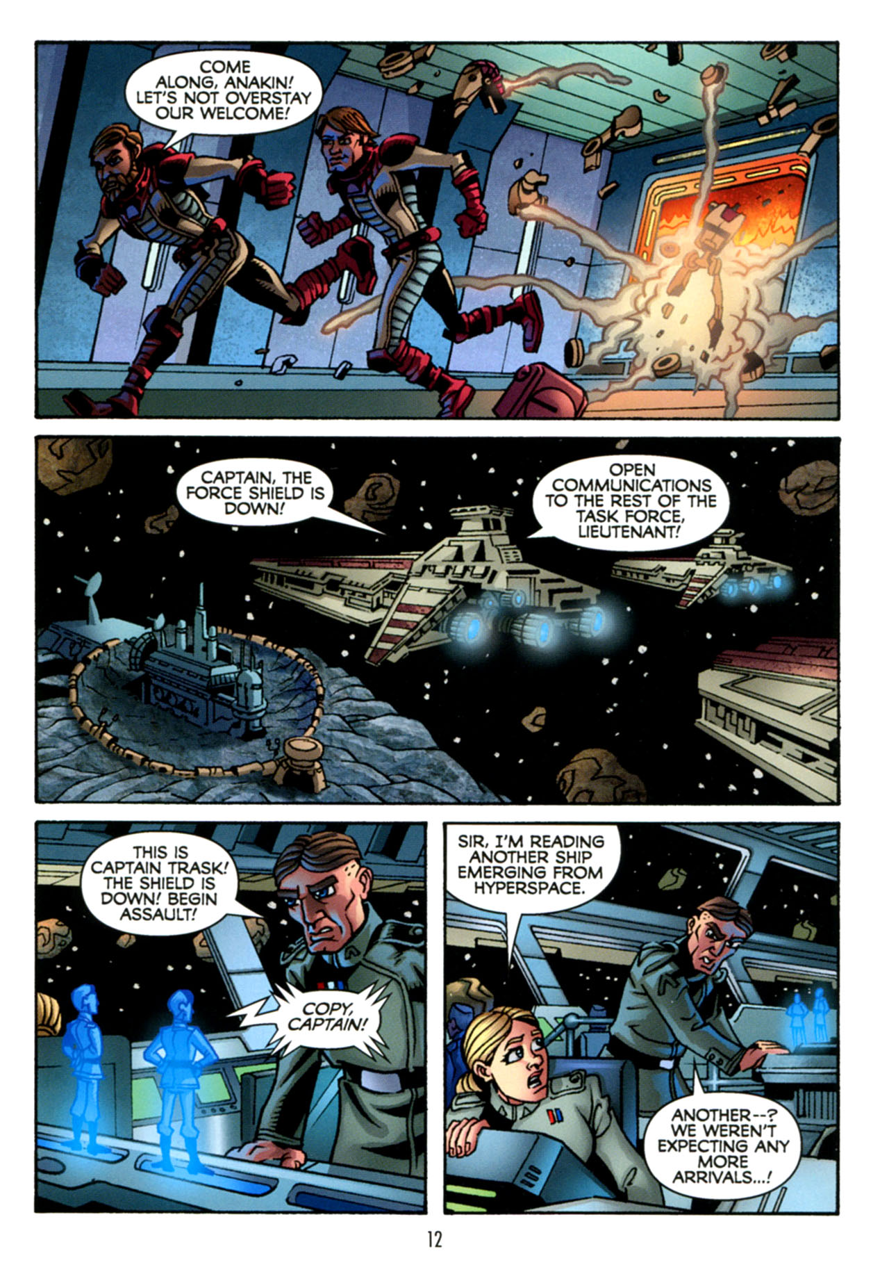 Read online Star Wars: The Clone Wars - The Starcrusher Trap comic -  Issue # Full - 13