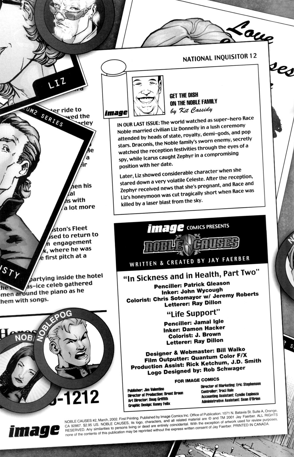 Read online Noble Causes (2002) comic -  Issue #2 - 3
